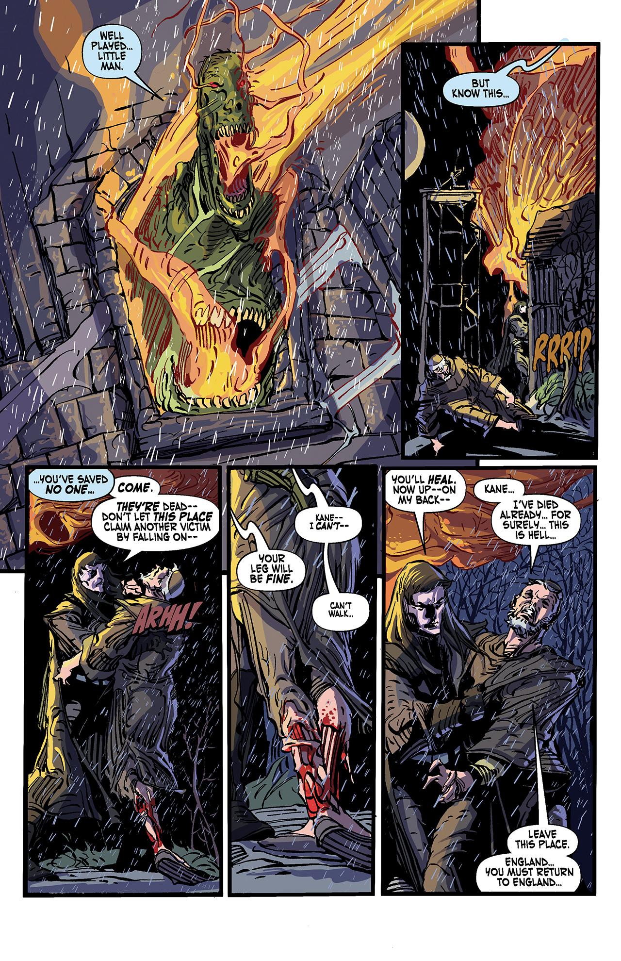 Read online Solomon Kane: Death's Black Riders comic -  Issue #4 - 21