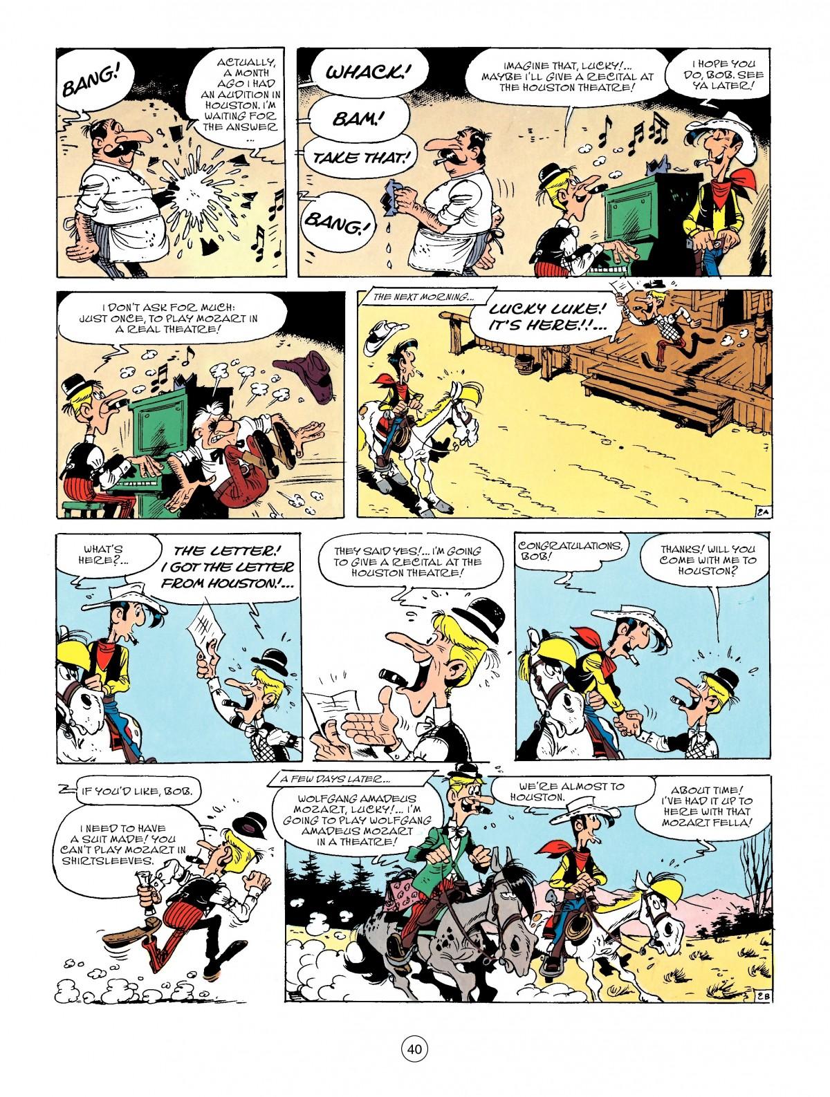 Read online A Lucky Luke Adventure comic -  Issue #50 - 40