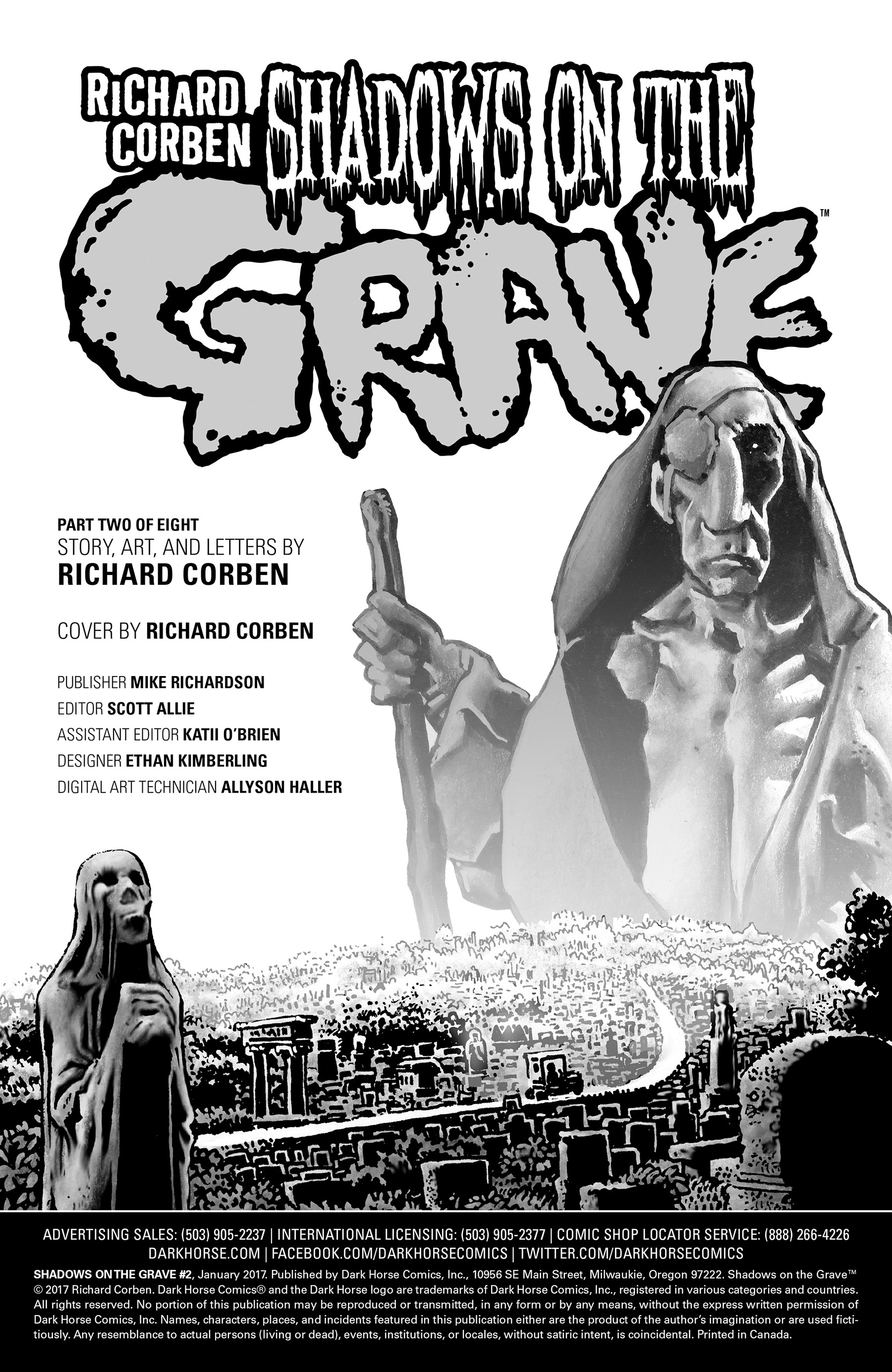 Read online Shadows on the Grave comic -  Issue #2 - 35