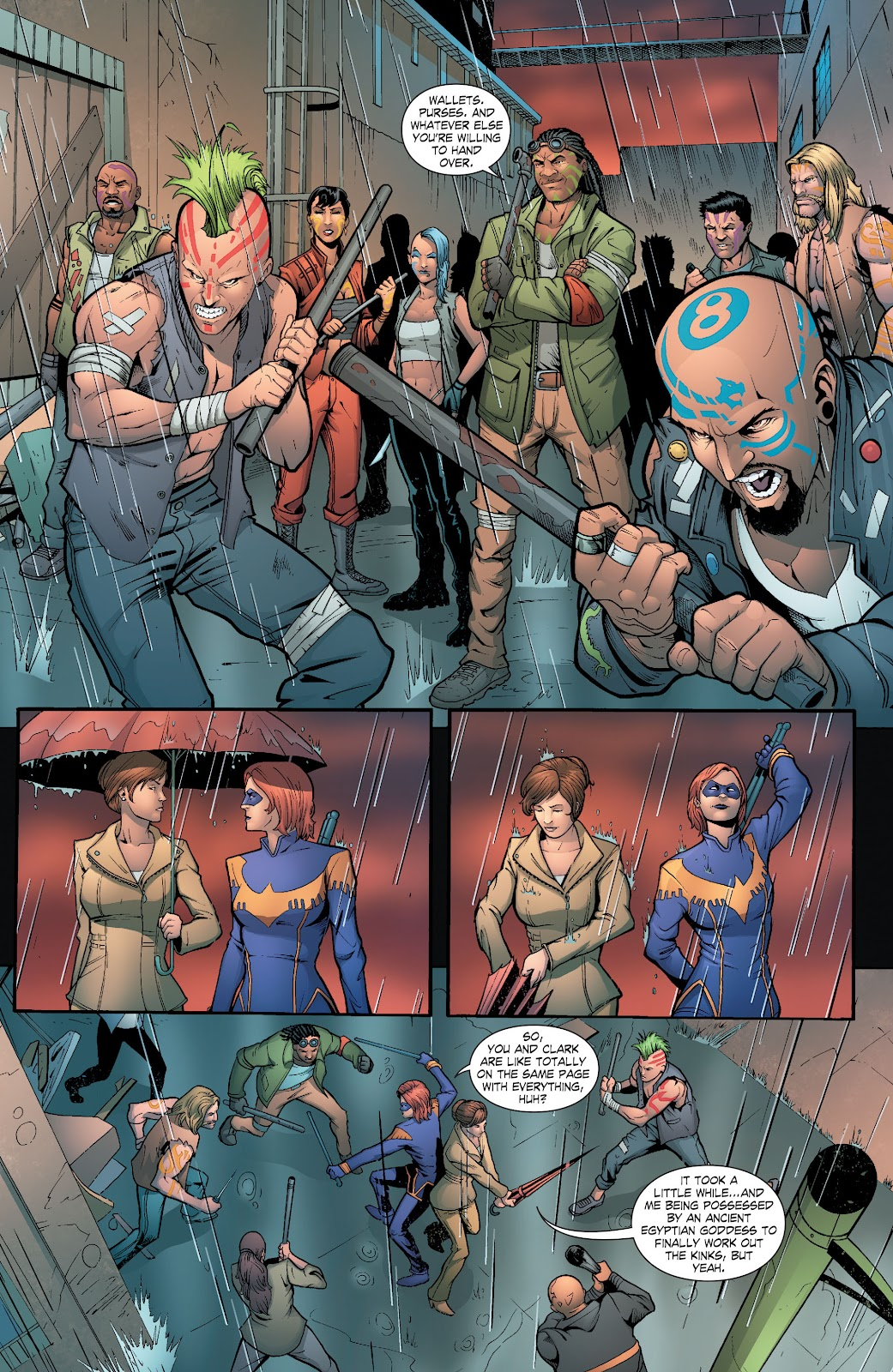 Read online Smallville Season 11 [II] comic -  Issue # TPB 6 - 124