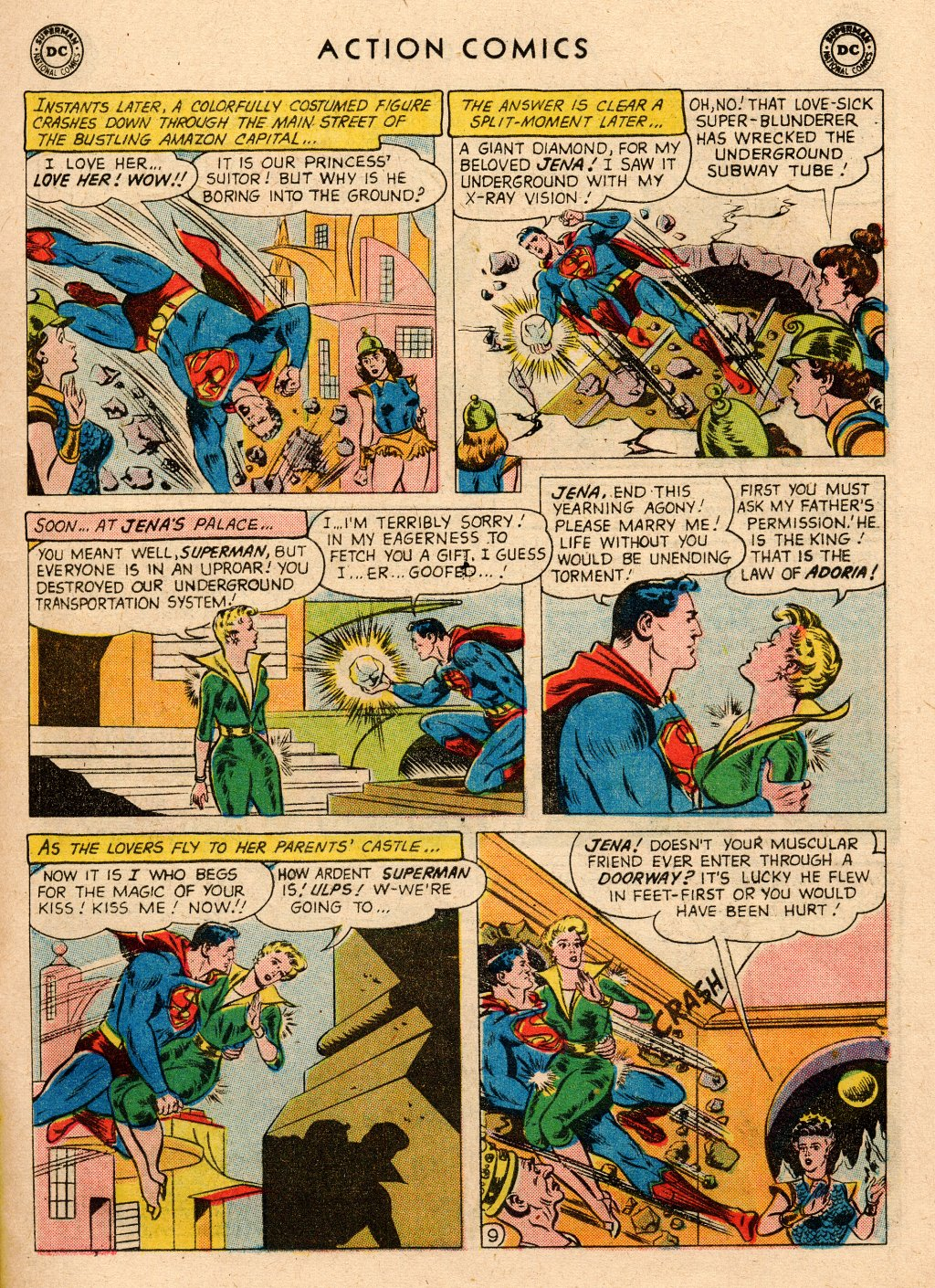 Read online Action Comics (1938) comic -  Issue #266 - 11