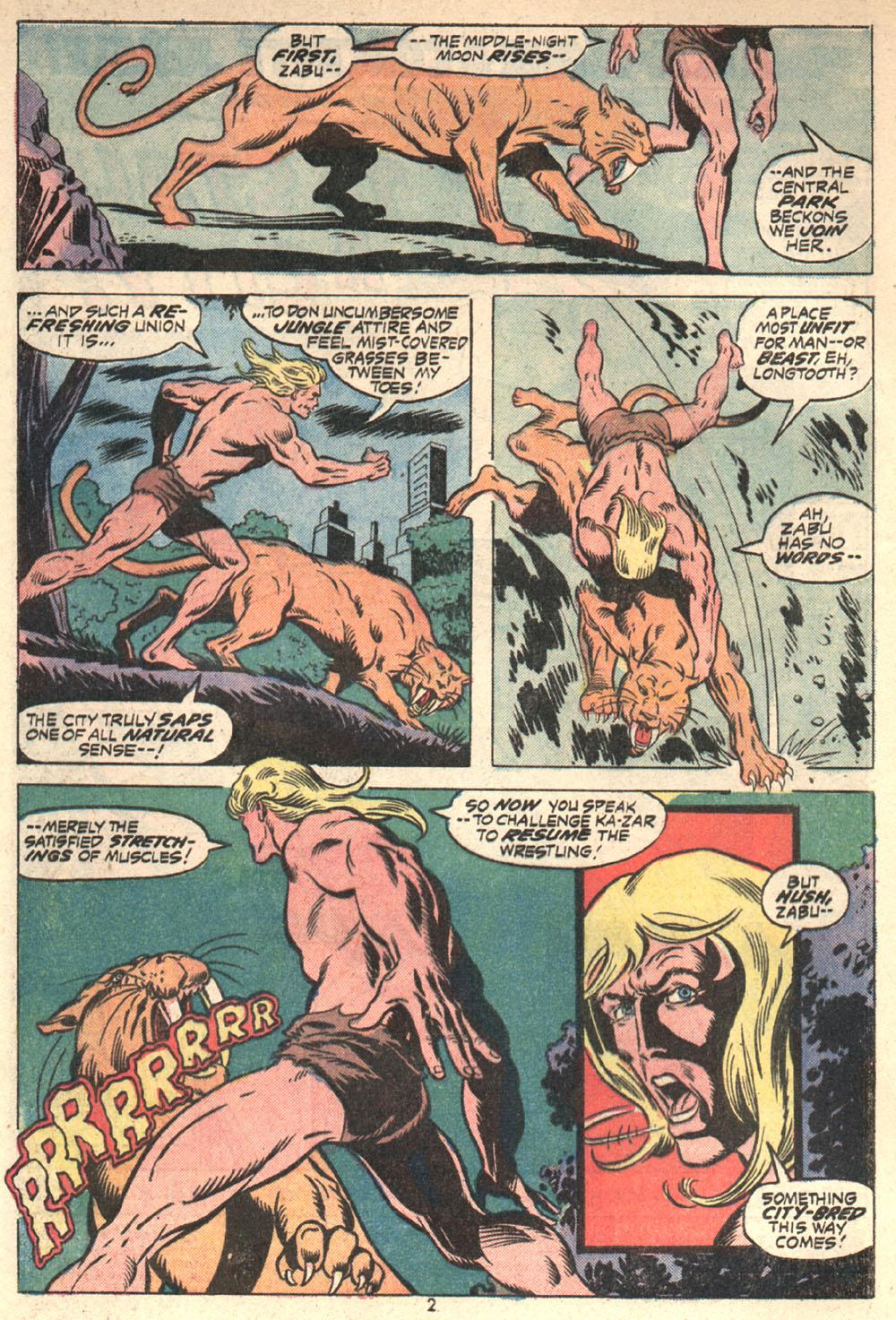 Read online Astonishing Tales (1970) comic -  Issue #16 - 3