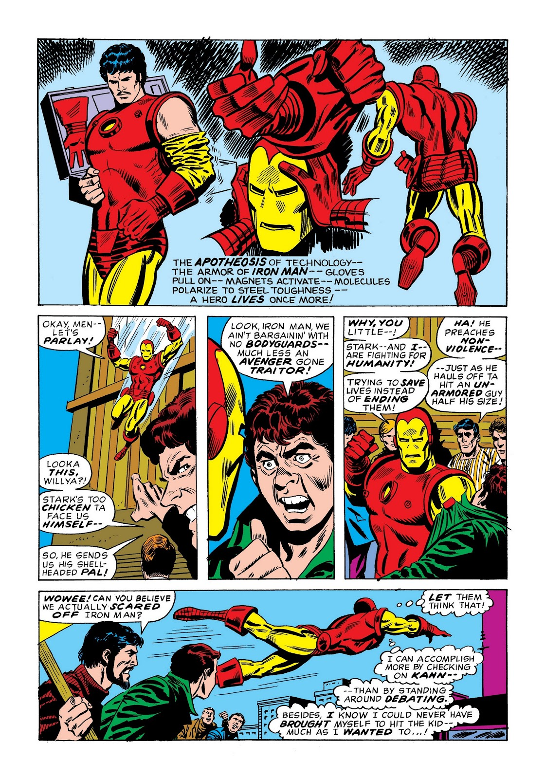 Read online Marvel Masterworks: The Invincible Iron Man comic -  Issue # TPB 9 (Part 1) - 75