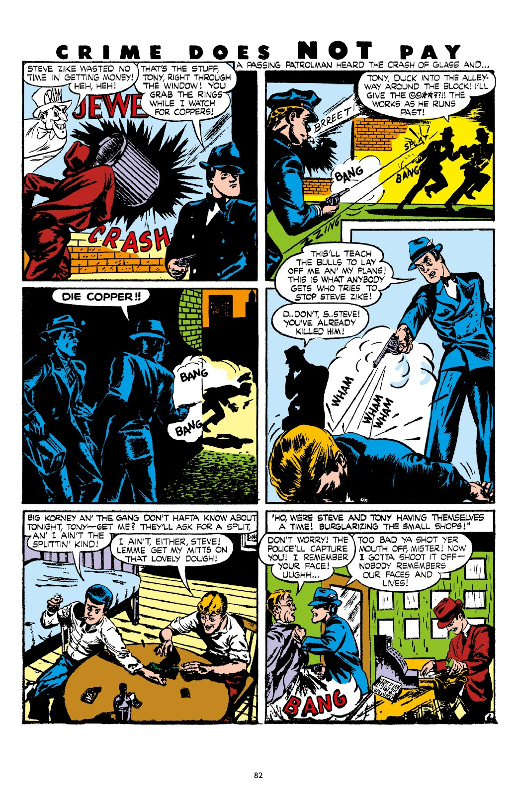 Read online Crime Does Not Pay Archives comic -  Issue # TPB 7 (Part 1) - 84