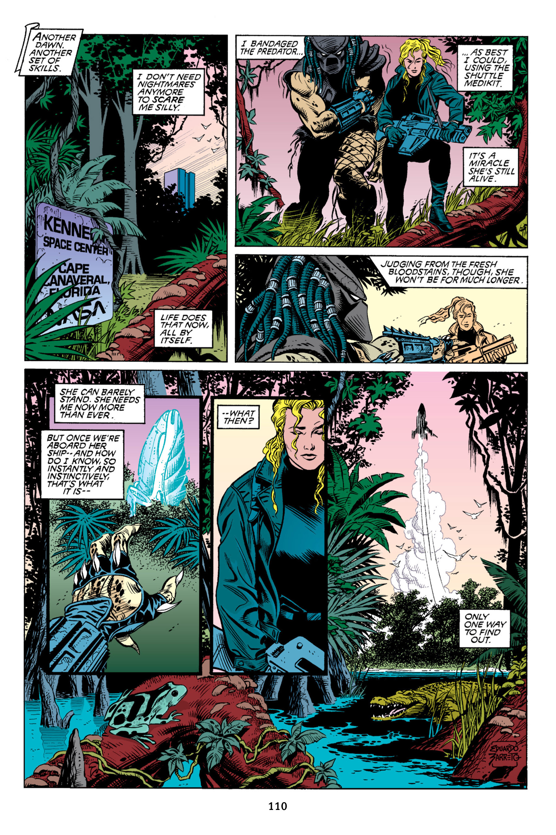Read online Aliens vs. Predator Omnibus comic -  Issue # _TPB 2 Part 1 - 109