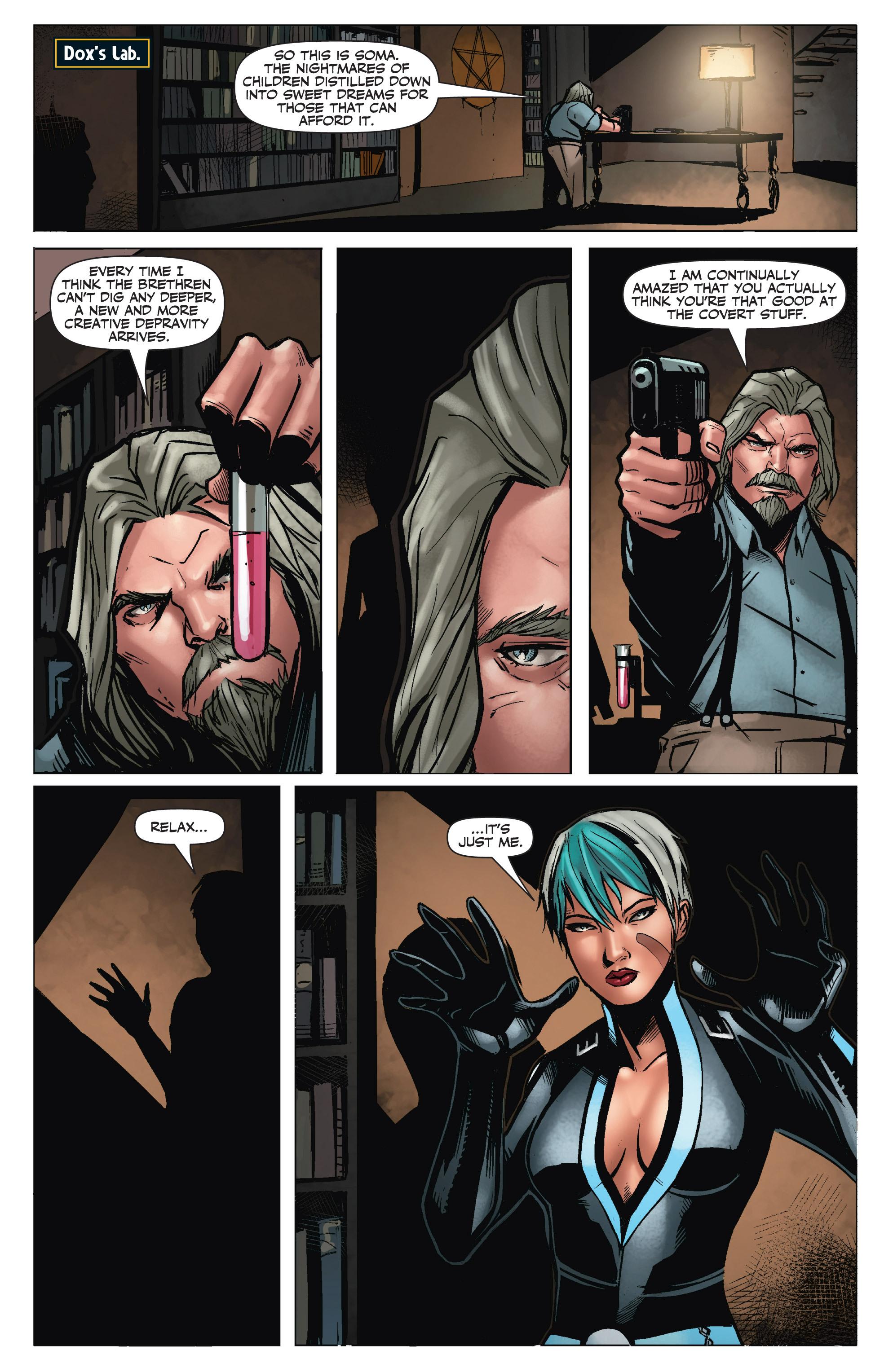 Read online Shadowman (2012) comic -  Issue #6 - 12