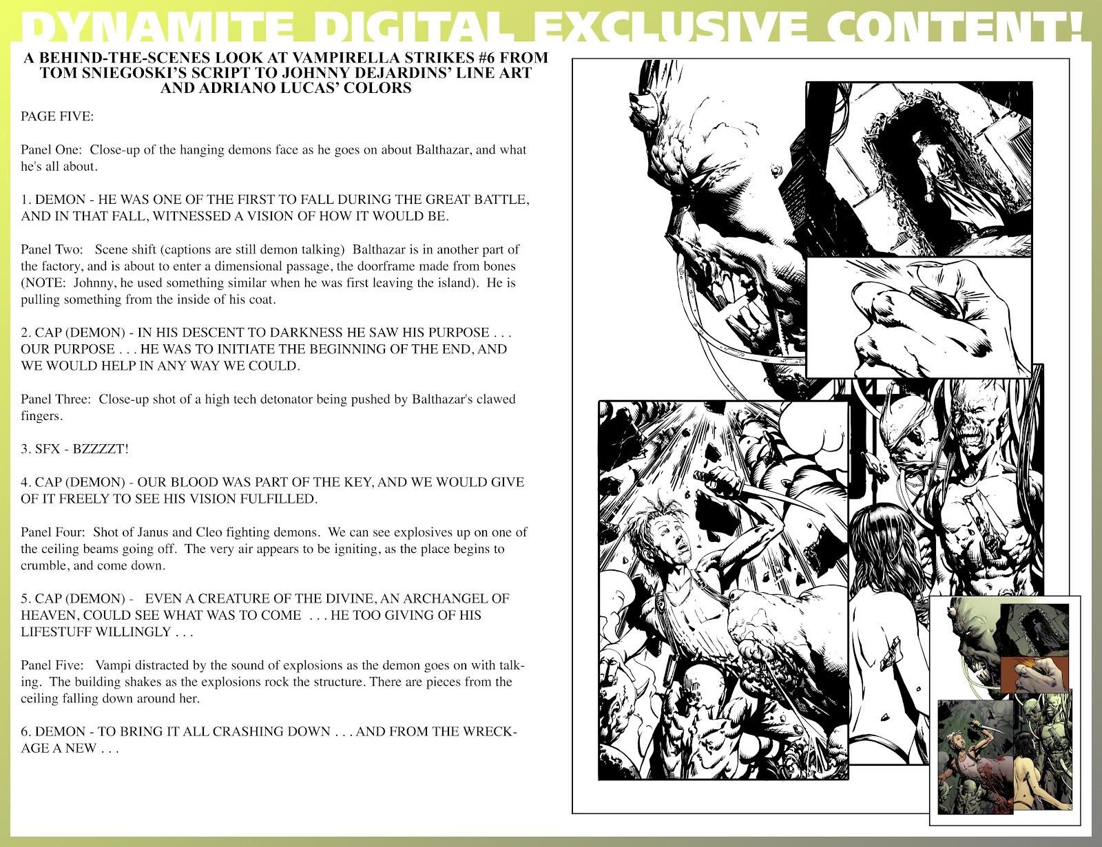 Read online Vampirella Strikes comic -  Issue #6 - 39