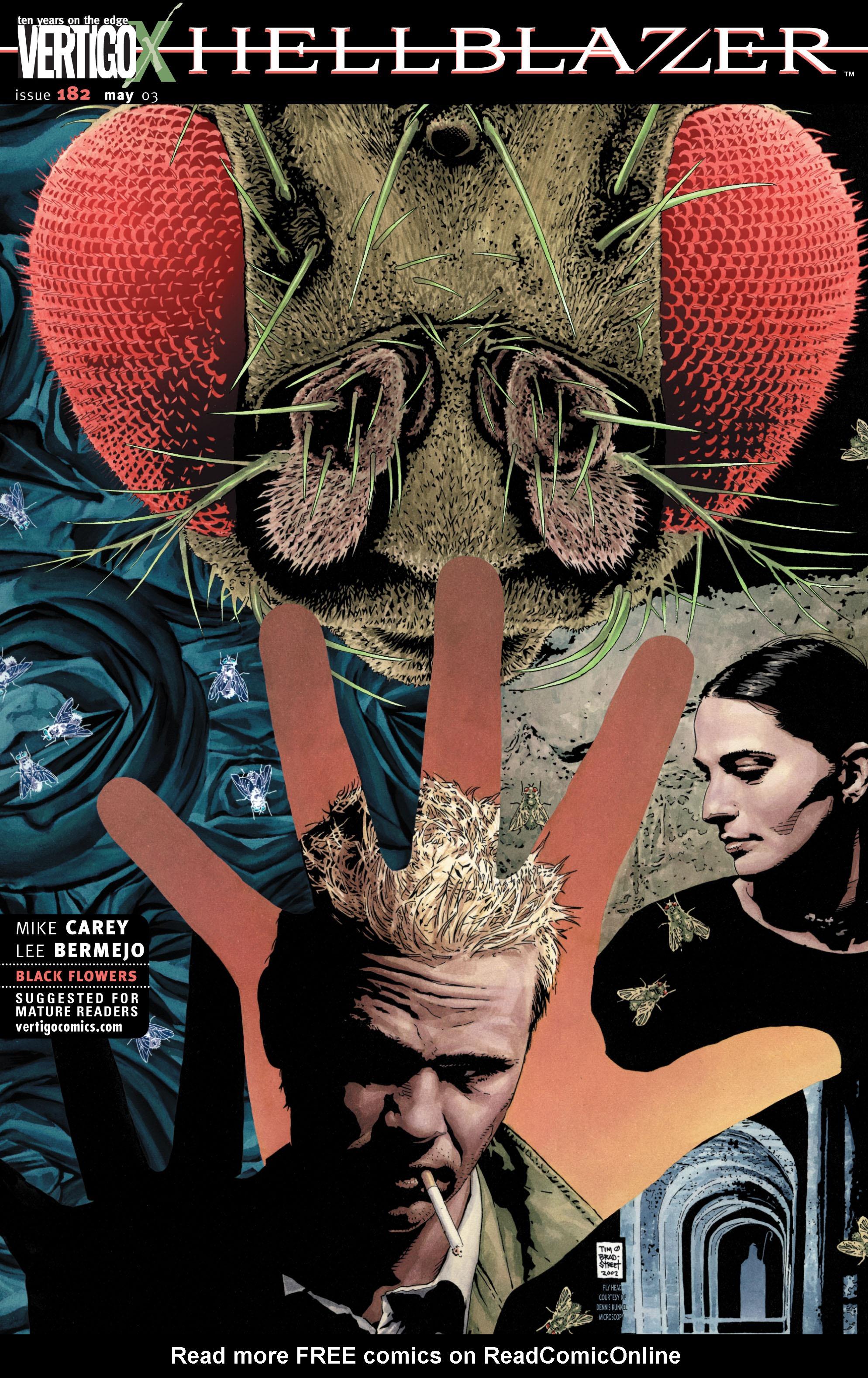 Hellblazer issue 182 - Page 1