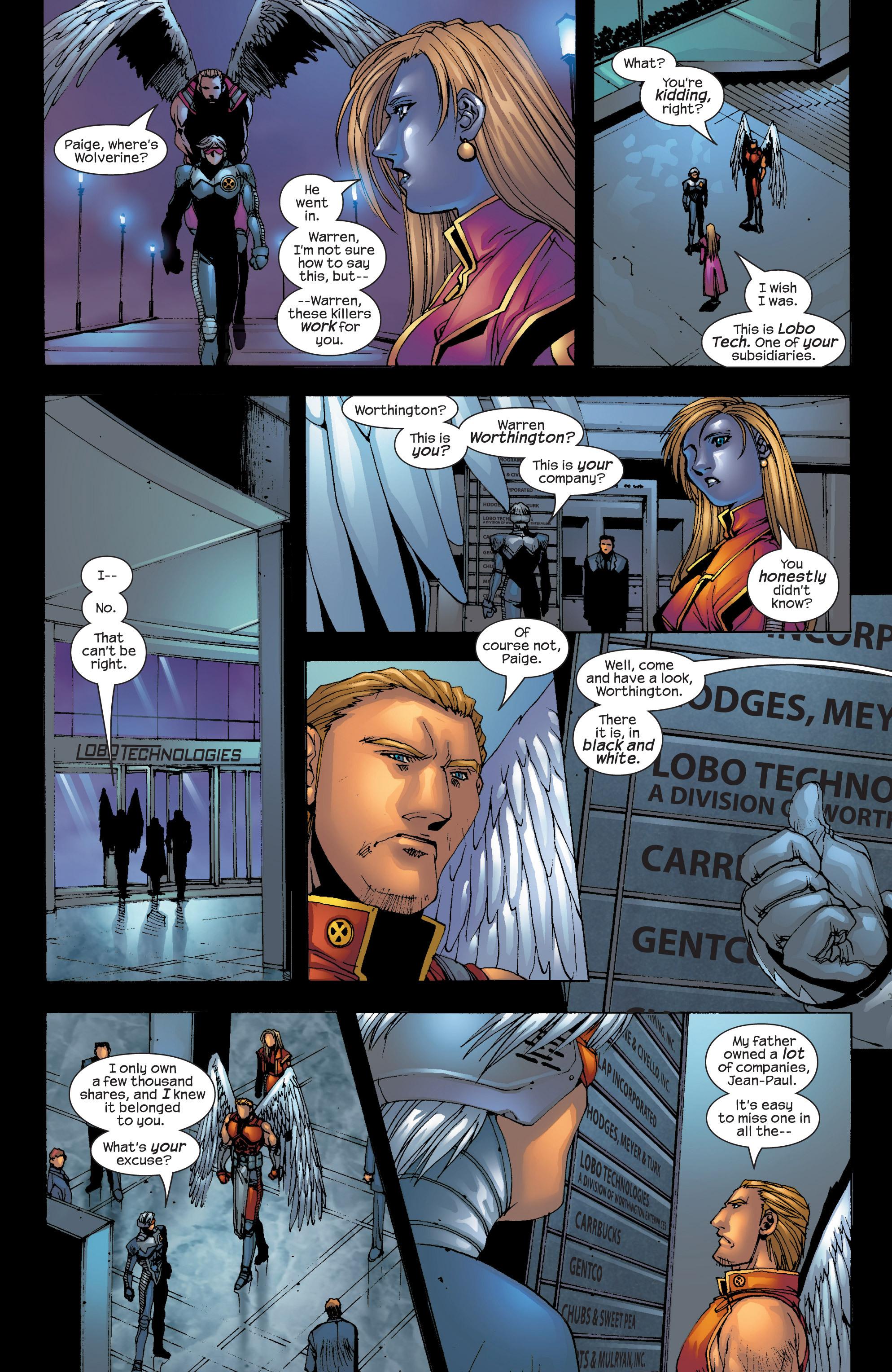 Read online Uncanny X-Men (1963) comic -  Issue #417 - 22