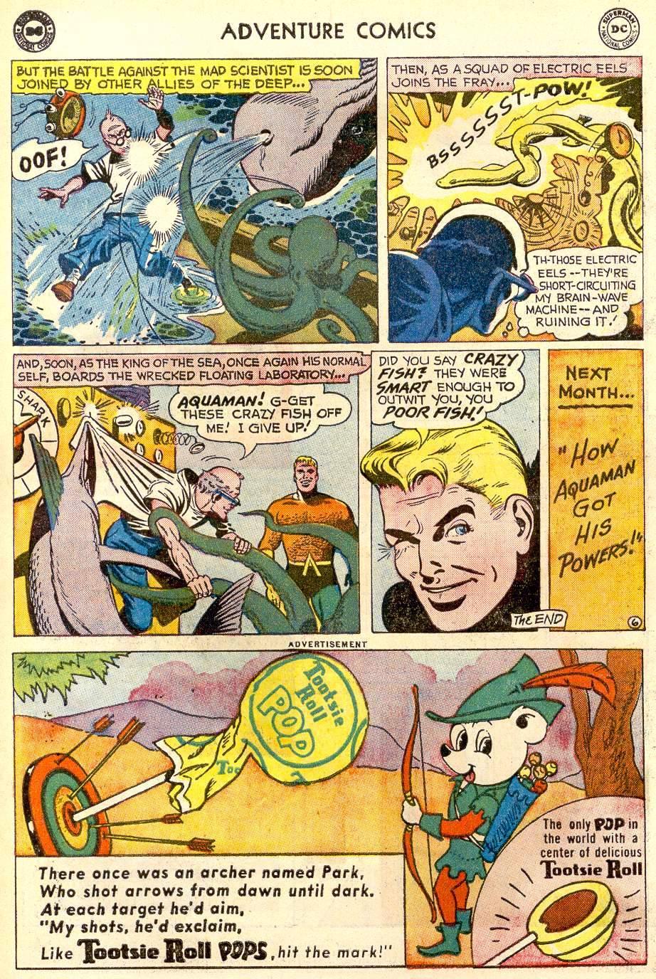 Read online Adventure Comics (1938) comic -  Issue #259 - 23