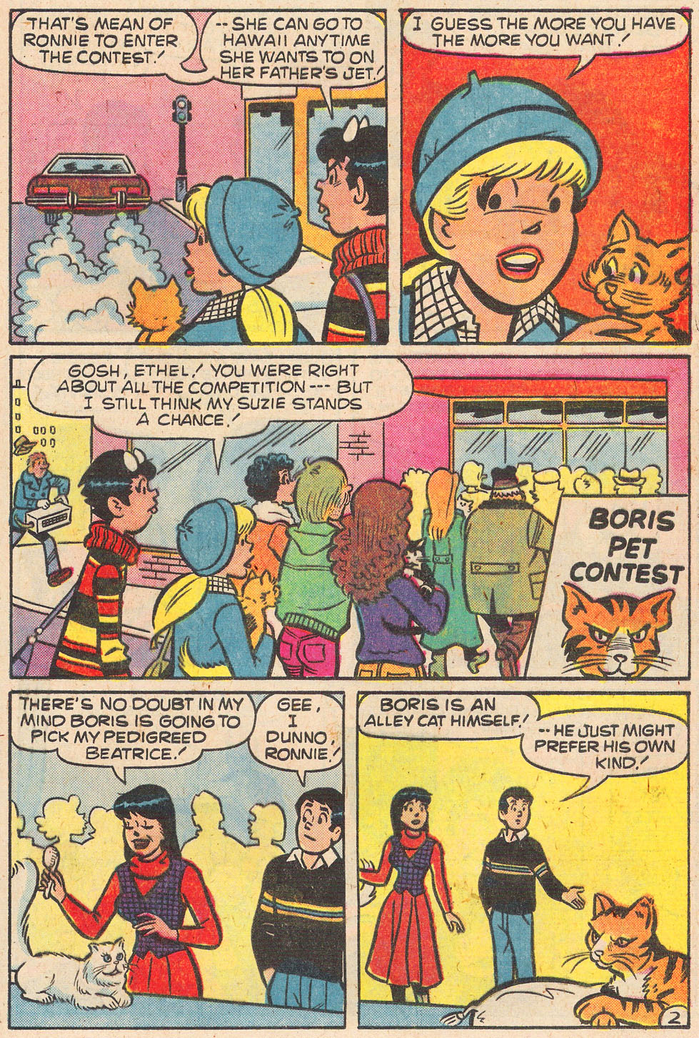 Read online Archie's Girls Betty and Veronica comic -  Issue #269 - 21
