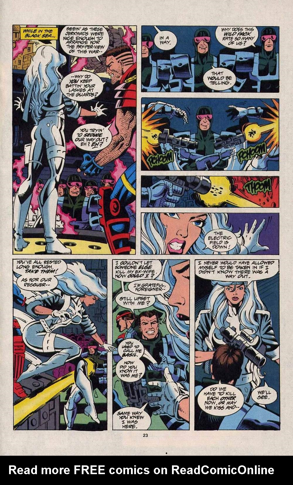 Read online Silver Sable and the Wild Pack comic -  Issue #25 - 19