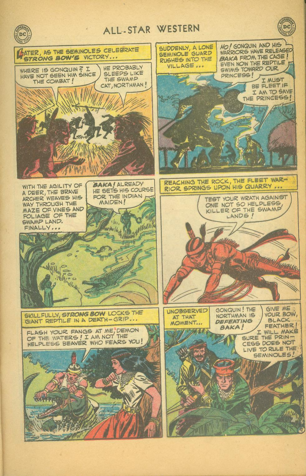 Read online All-Star Western (1951) comic -  Issue #61 - 11
