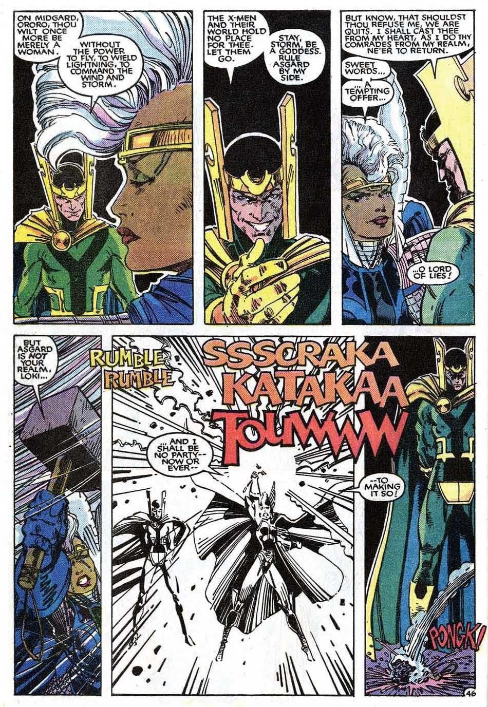 Uncanny X-Men (1963) issue _Annual_9 - Page 48