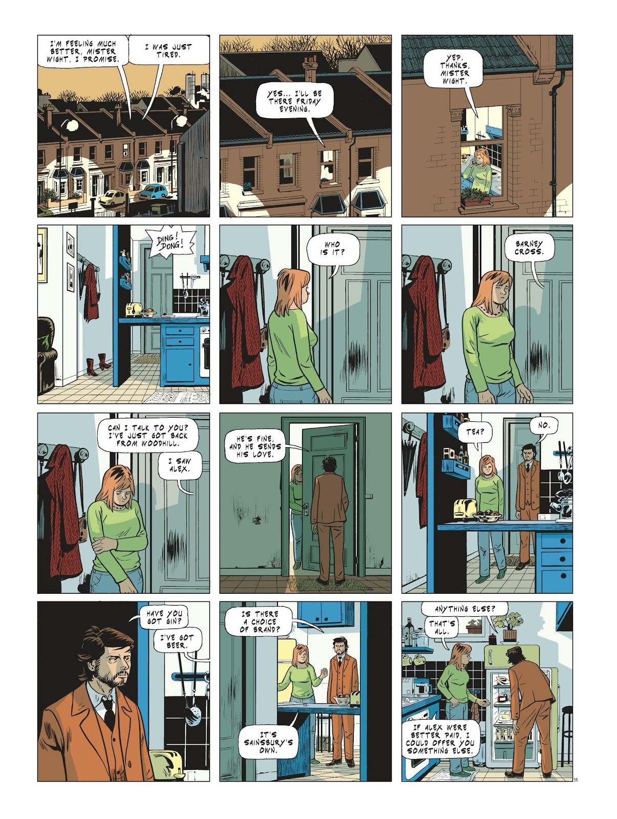 Read online Maggy Garrisson comic -  Issue #3 - 40