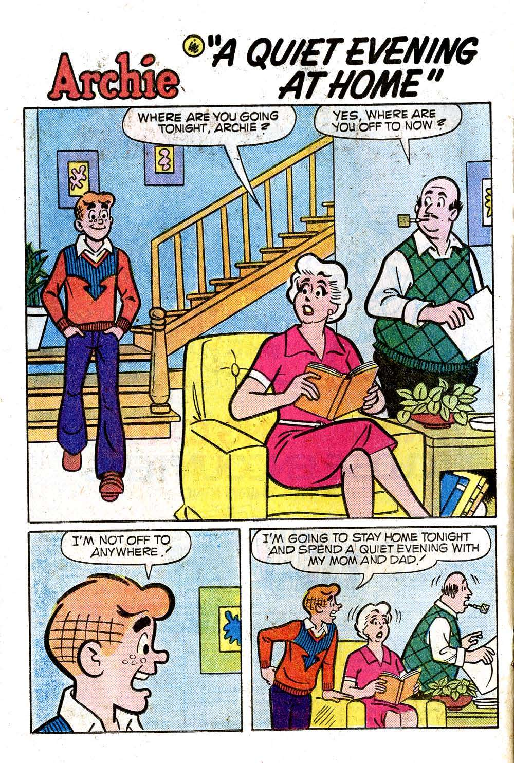 Read online Archie (1960) comic -  Issue #271 - 20