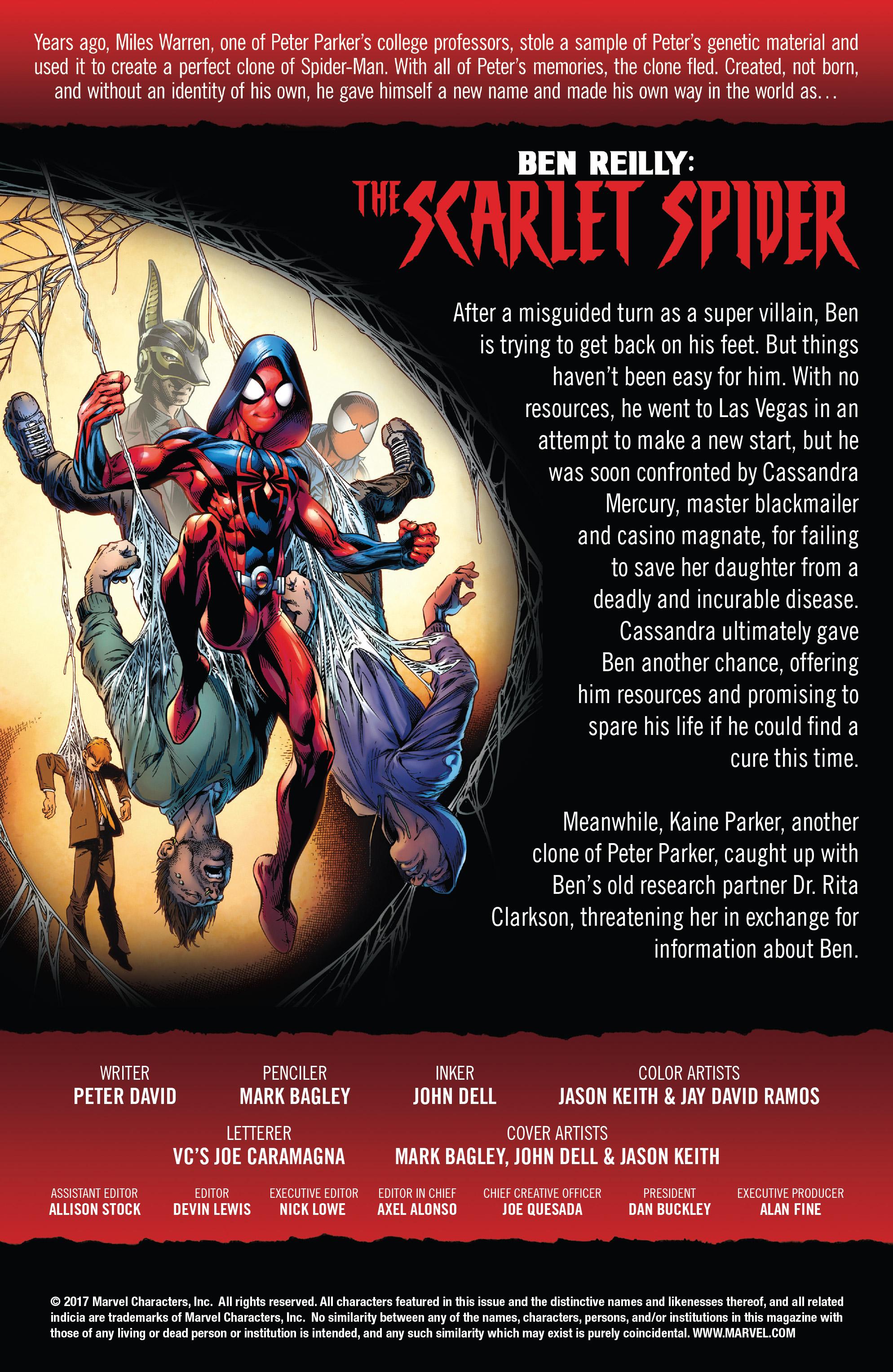 Read online Ben Reilly: Scarlet Spider comic -  Issue #3 - 2