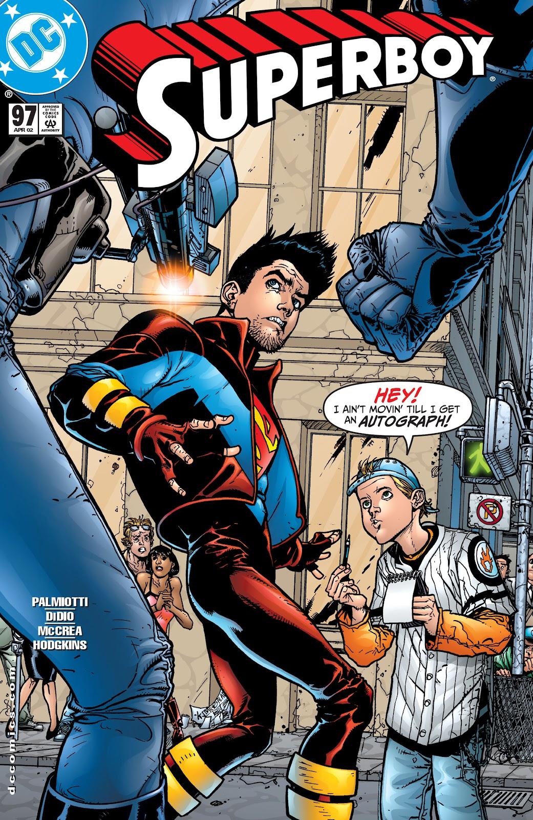 Superboy (1994) 97 Page 1