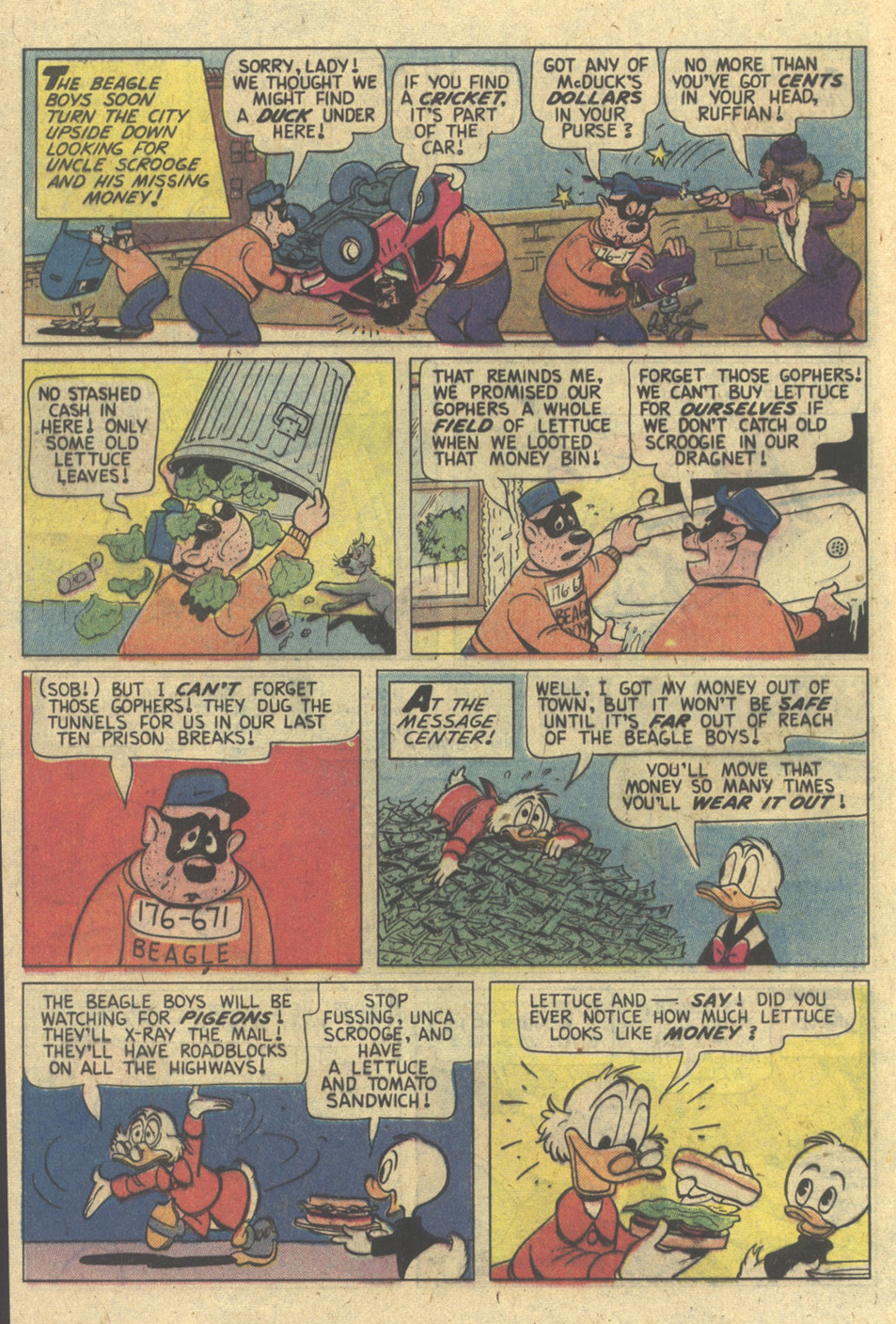 Read online Uncle Scrooge (1953) comic -  Issue #173 - 12