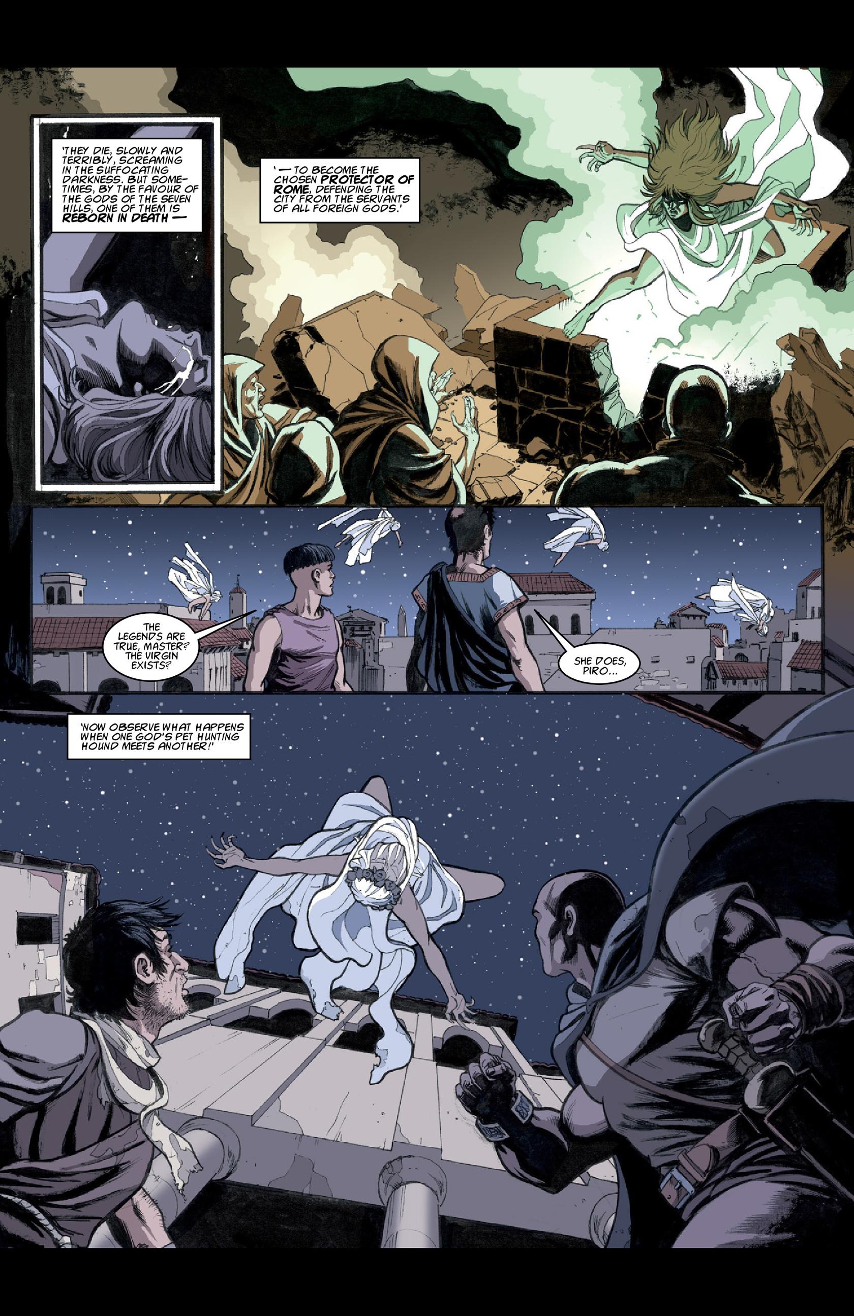Read online Aquila comic -  Issue #3 - 22