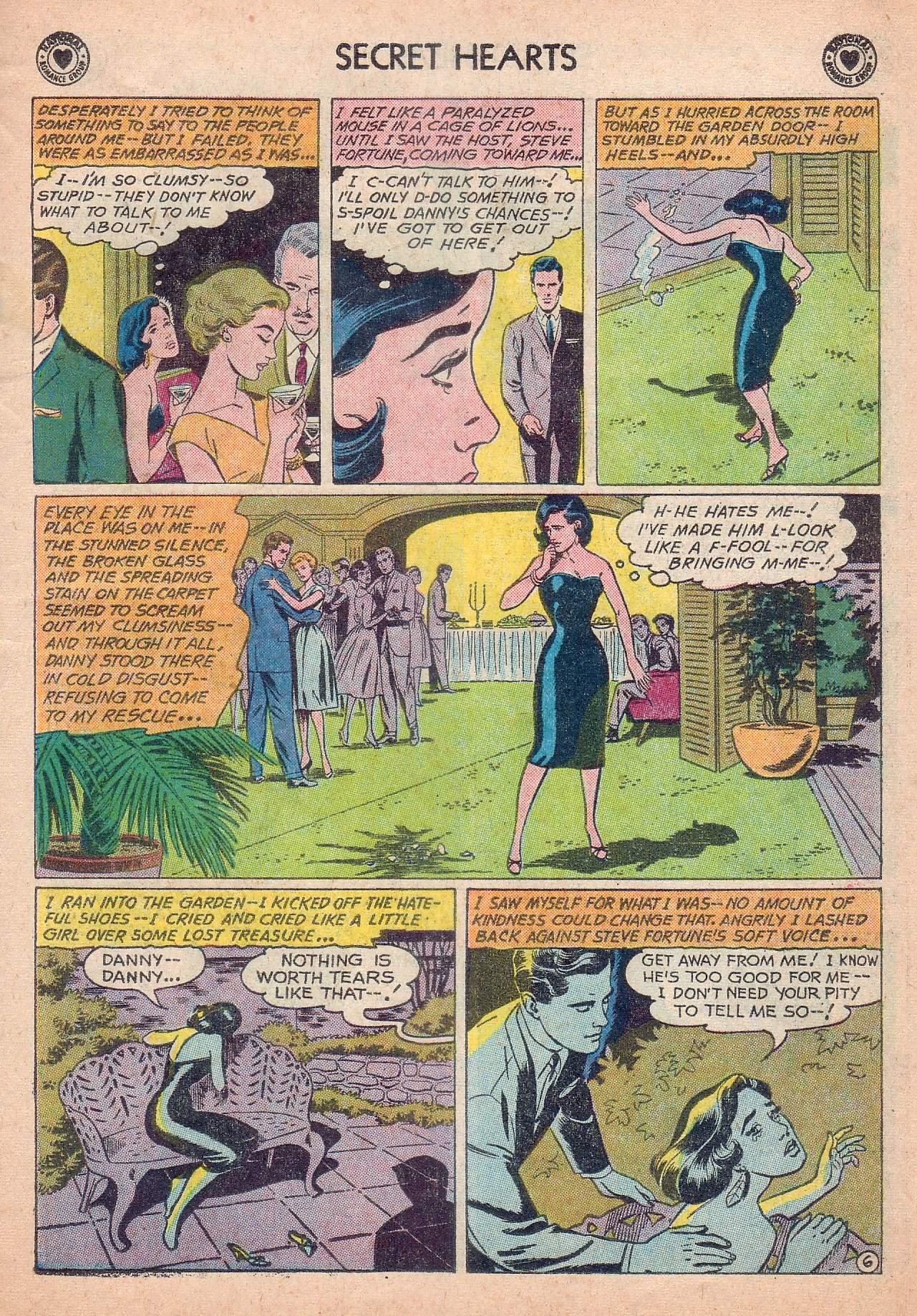 Read online Secret Hearts comic -  Issue #63 - 23