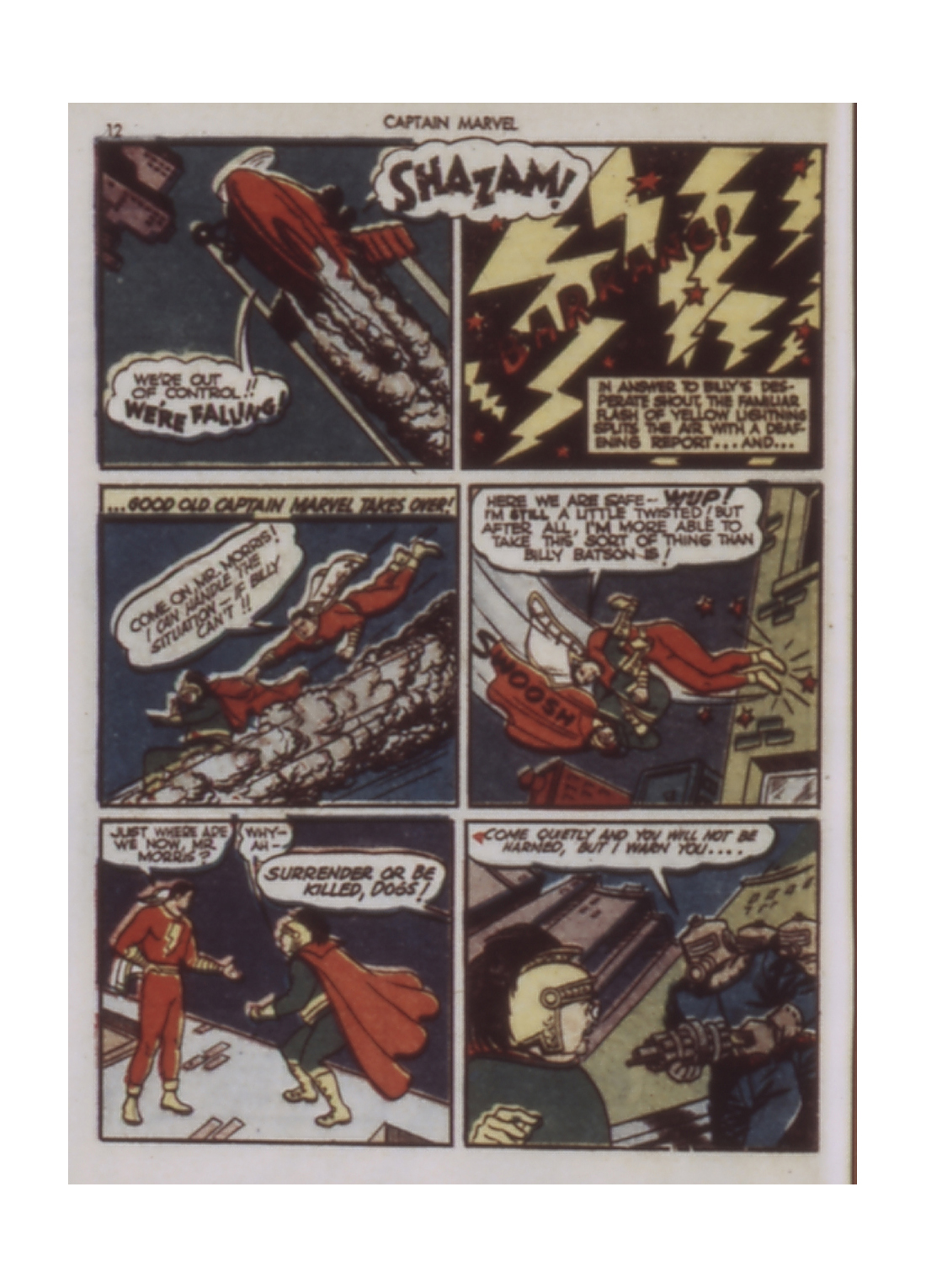 Captain Marvel Adventures issue 9 - Page 12