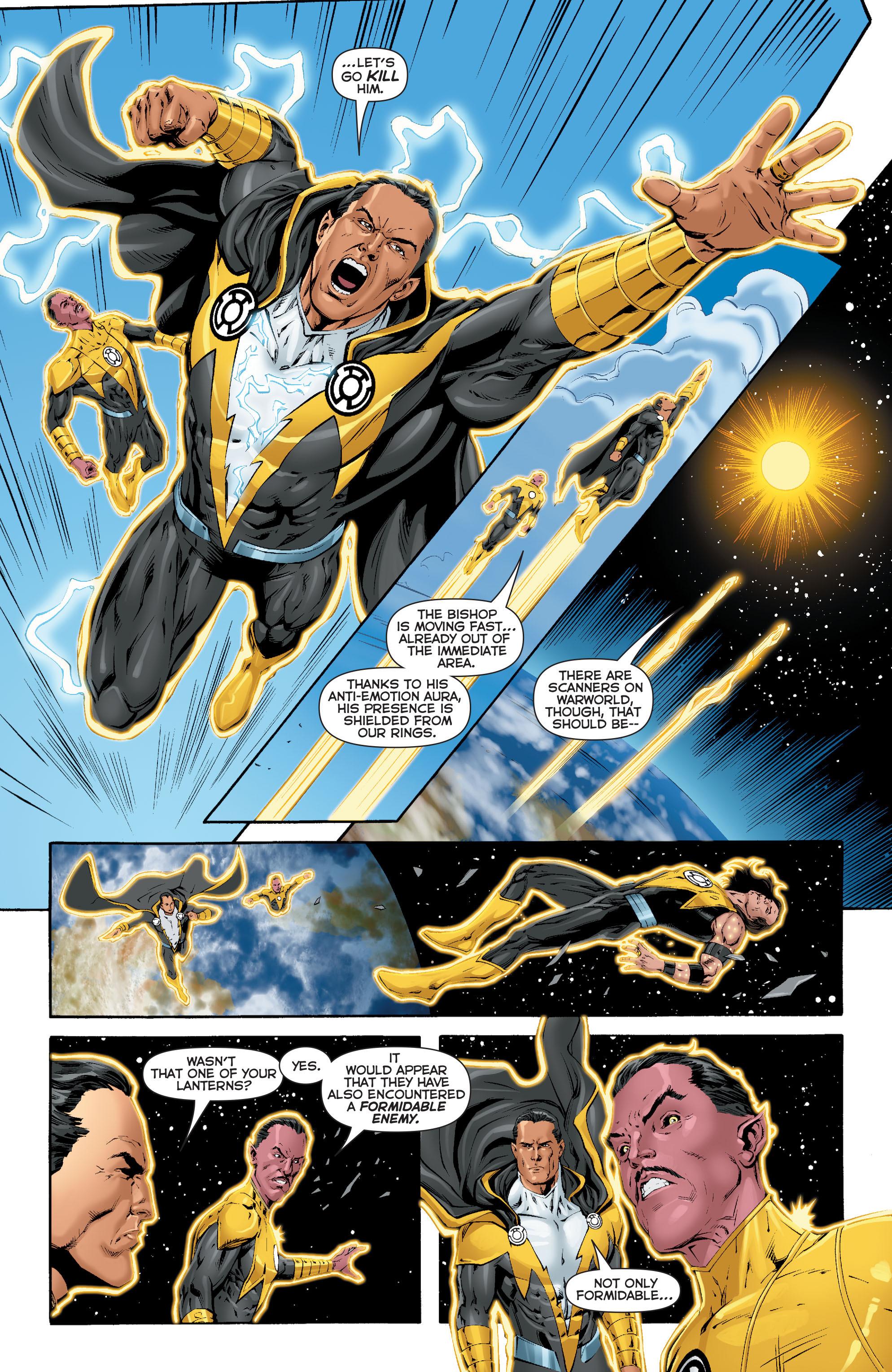 Read online Sinestro comic -  Issue #17 - 17