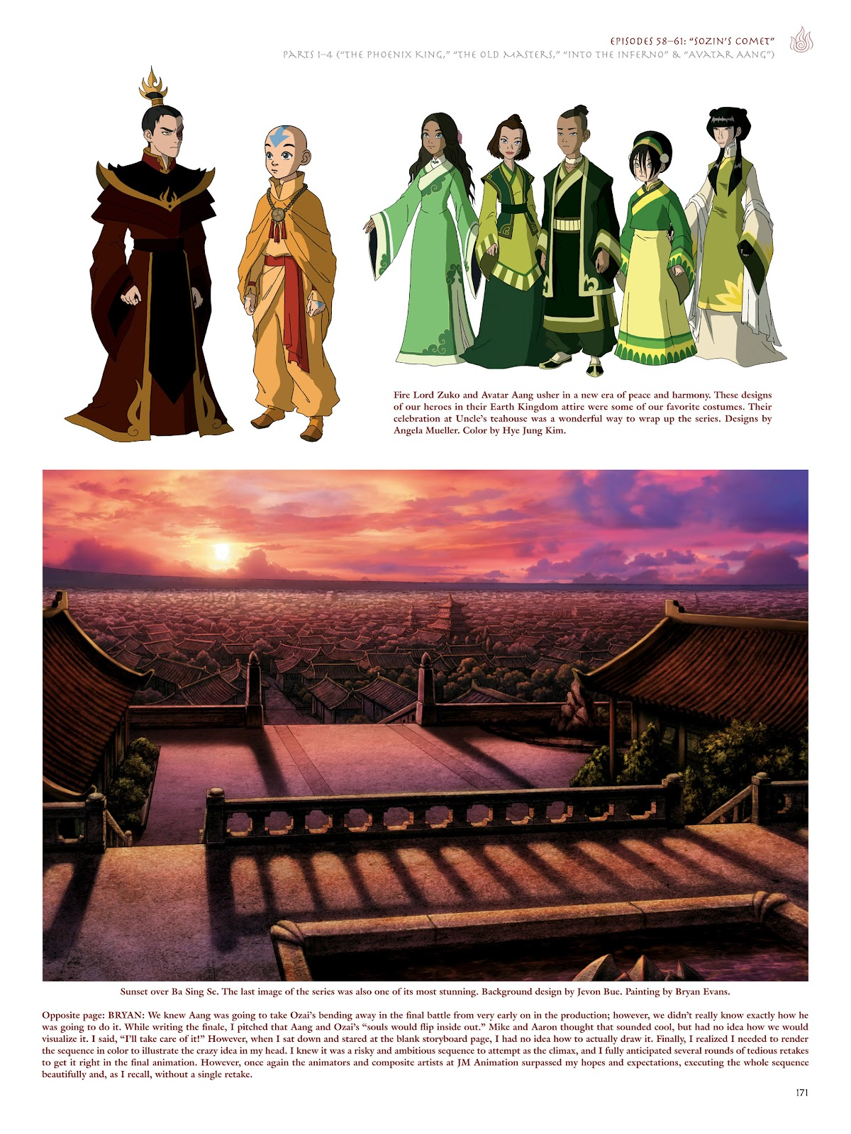 Read online Avatar: The Last Airbender - The Art of the Animated Series comic -  Issue # TPB (Part 2) - 68