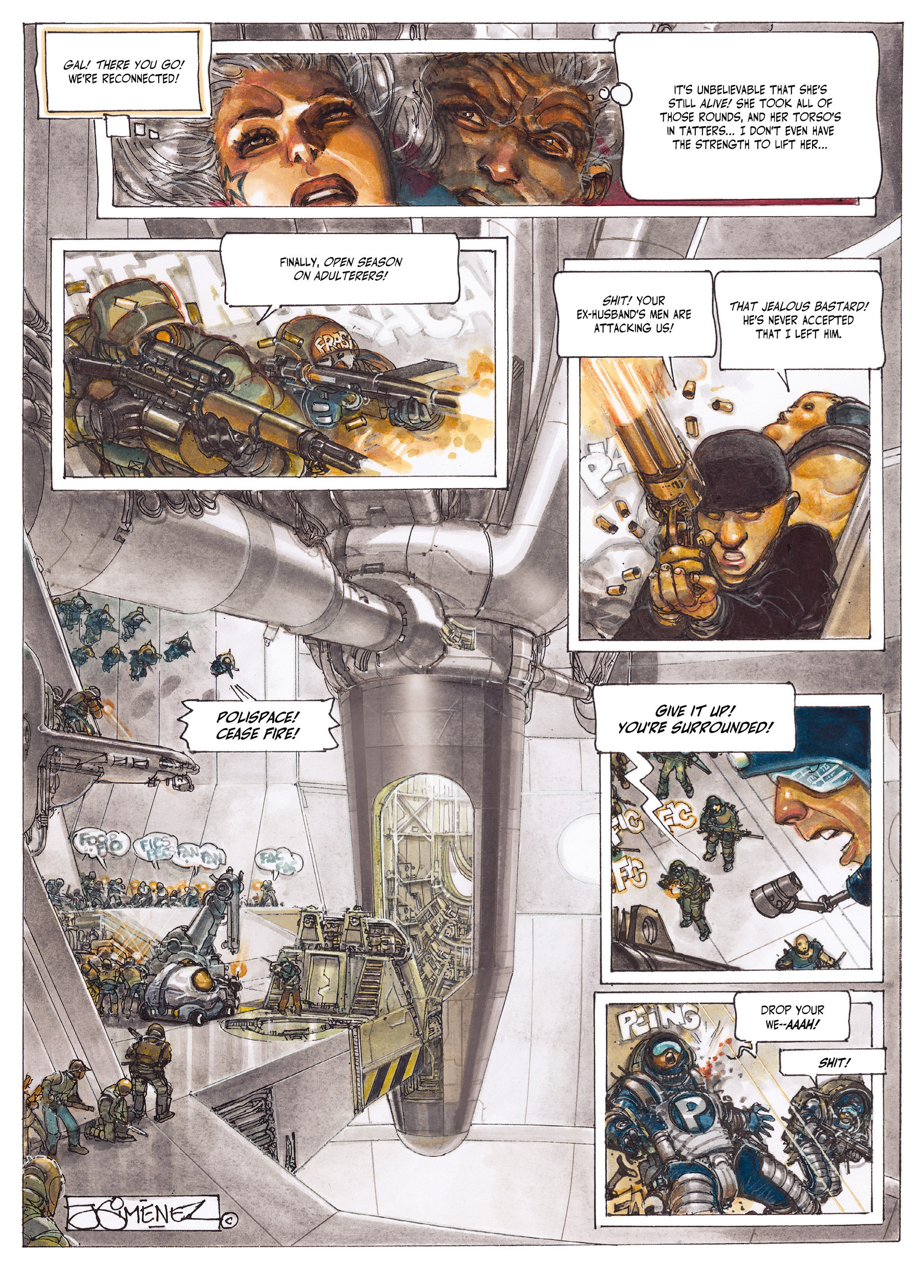 Read online The Fourth Power comic -  Issue #2 - 54