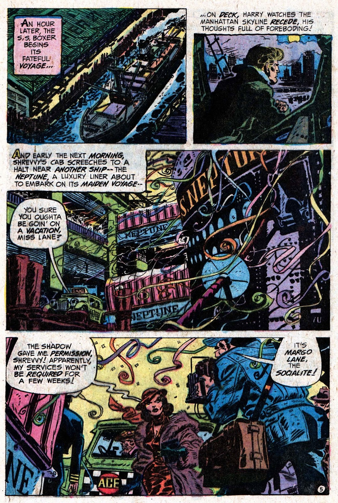 The Shadow (1973) issue 5 - Page 9