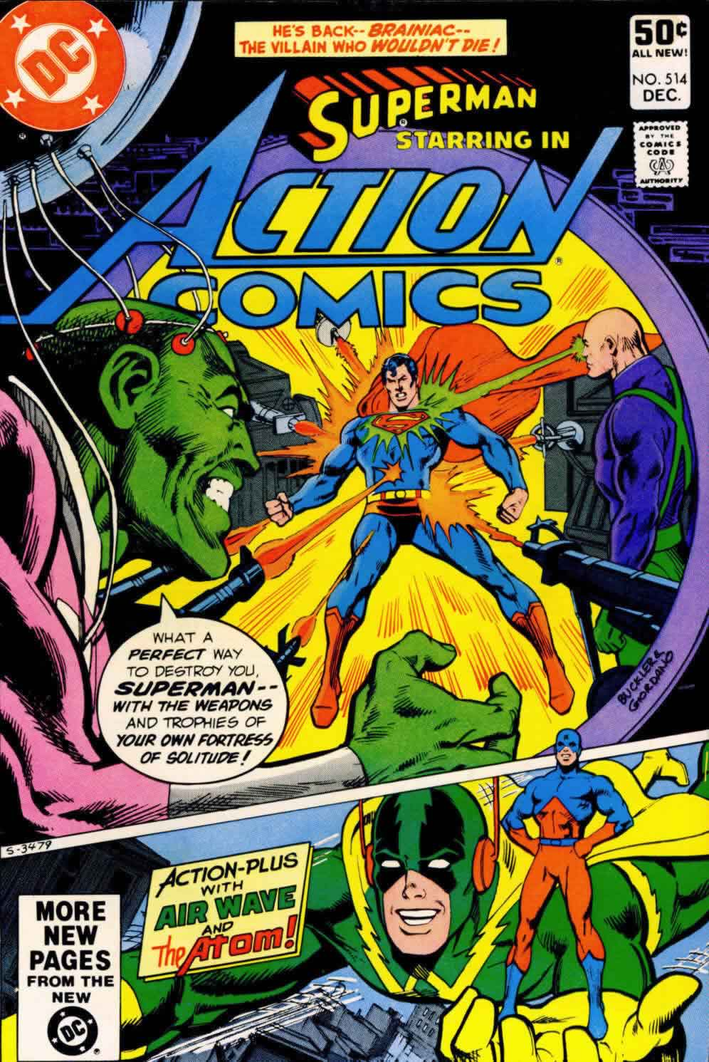 Read online Action Comics (1938) comic -  Issue #514 - 1