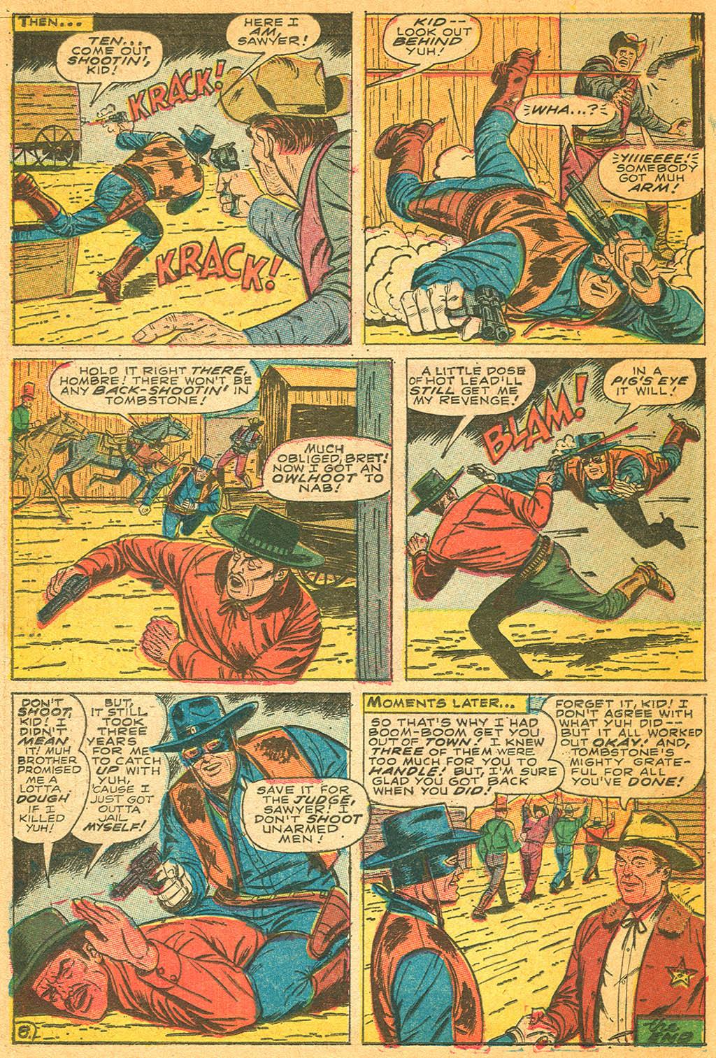 Read online Two-Gun Kid comic -  Issue #87 - 22