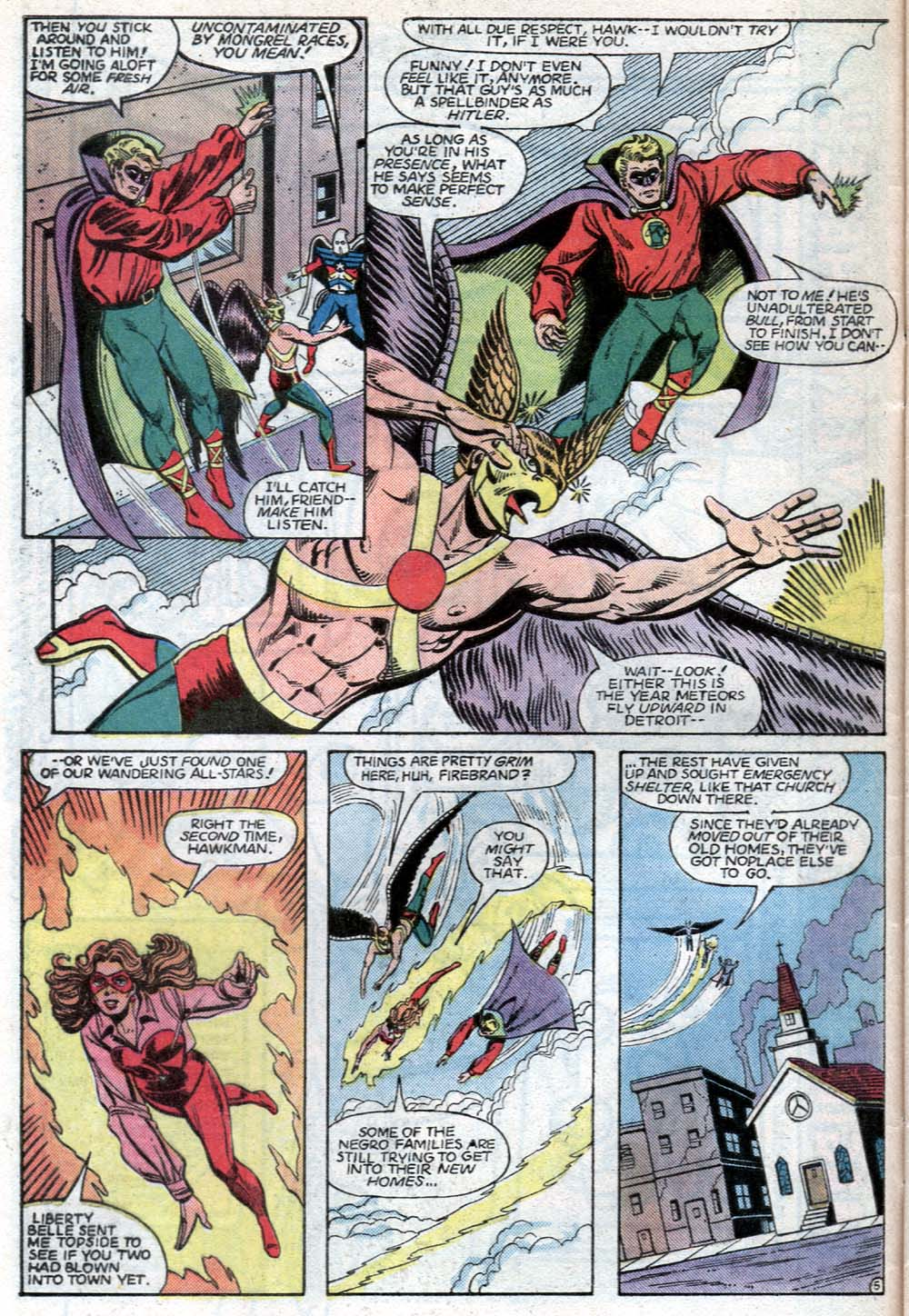 Read online All-Star Squadron comic -  Issue #40 - 6