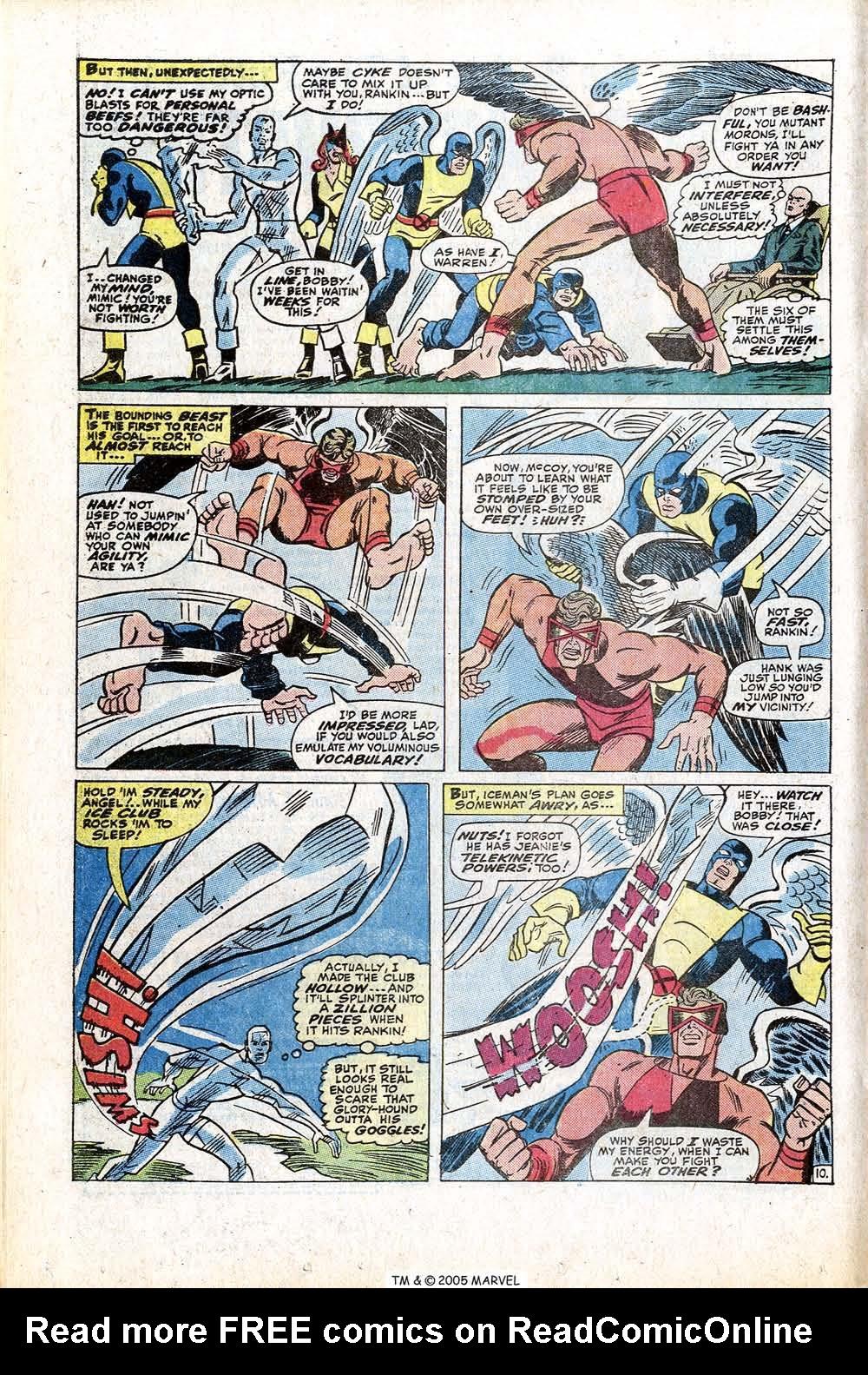 Read online Uncanny X-Men (1963) comic -  Issue #77 - 16