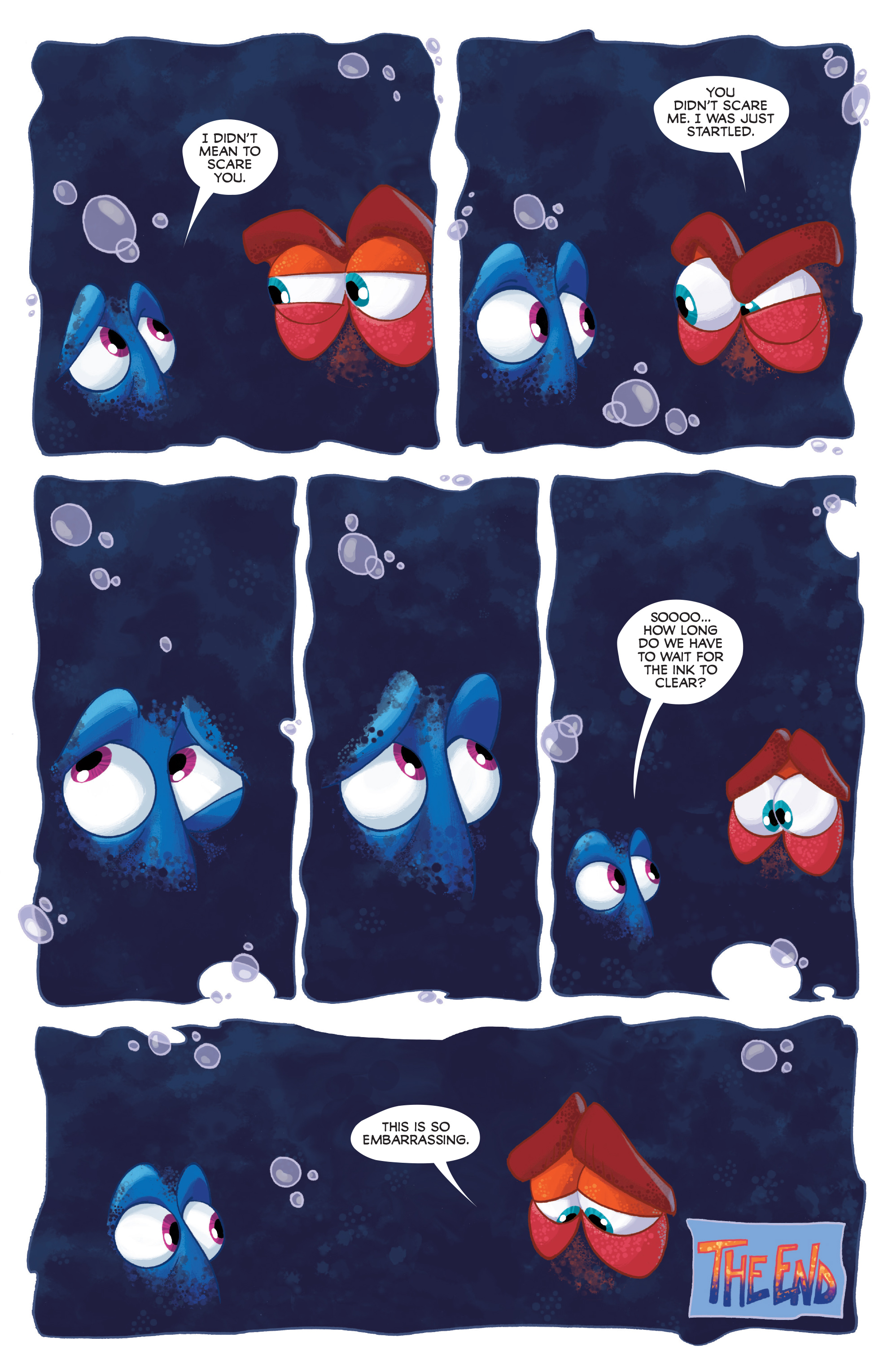 Read online Disney Pixar Finding Dory comic -  Issue #2 - 25
