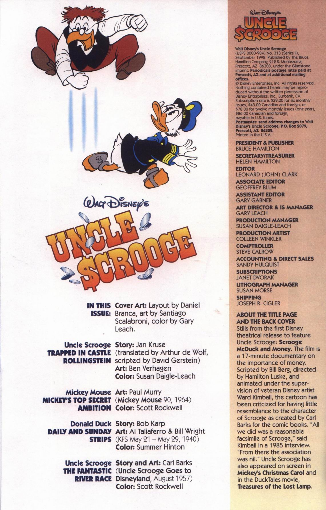 Read online Uncle Scrooge (1953) comic -  Issue #313 - 4
