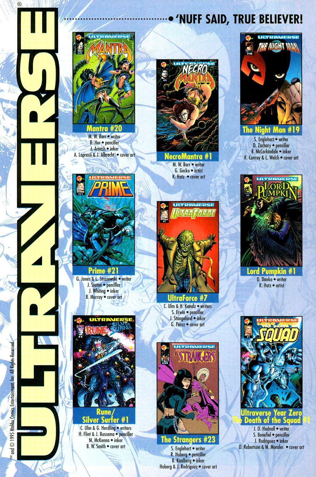 Read online UltraForce (1994) comic -  Issue #7 - 26