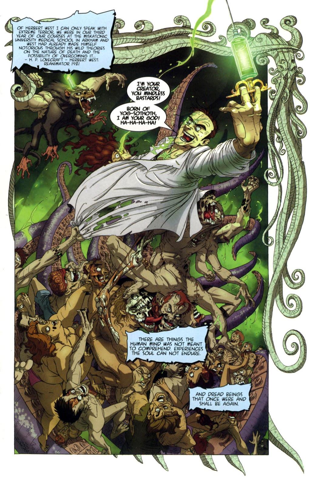 Read online Re-Animator comic -  Issue # Full - 3