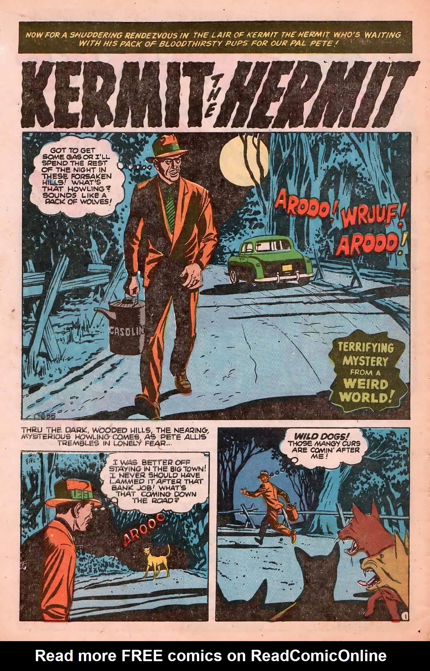Read online Adventures into Weird Worlds comic -  Issue #20 - 10