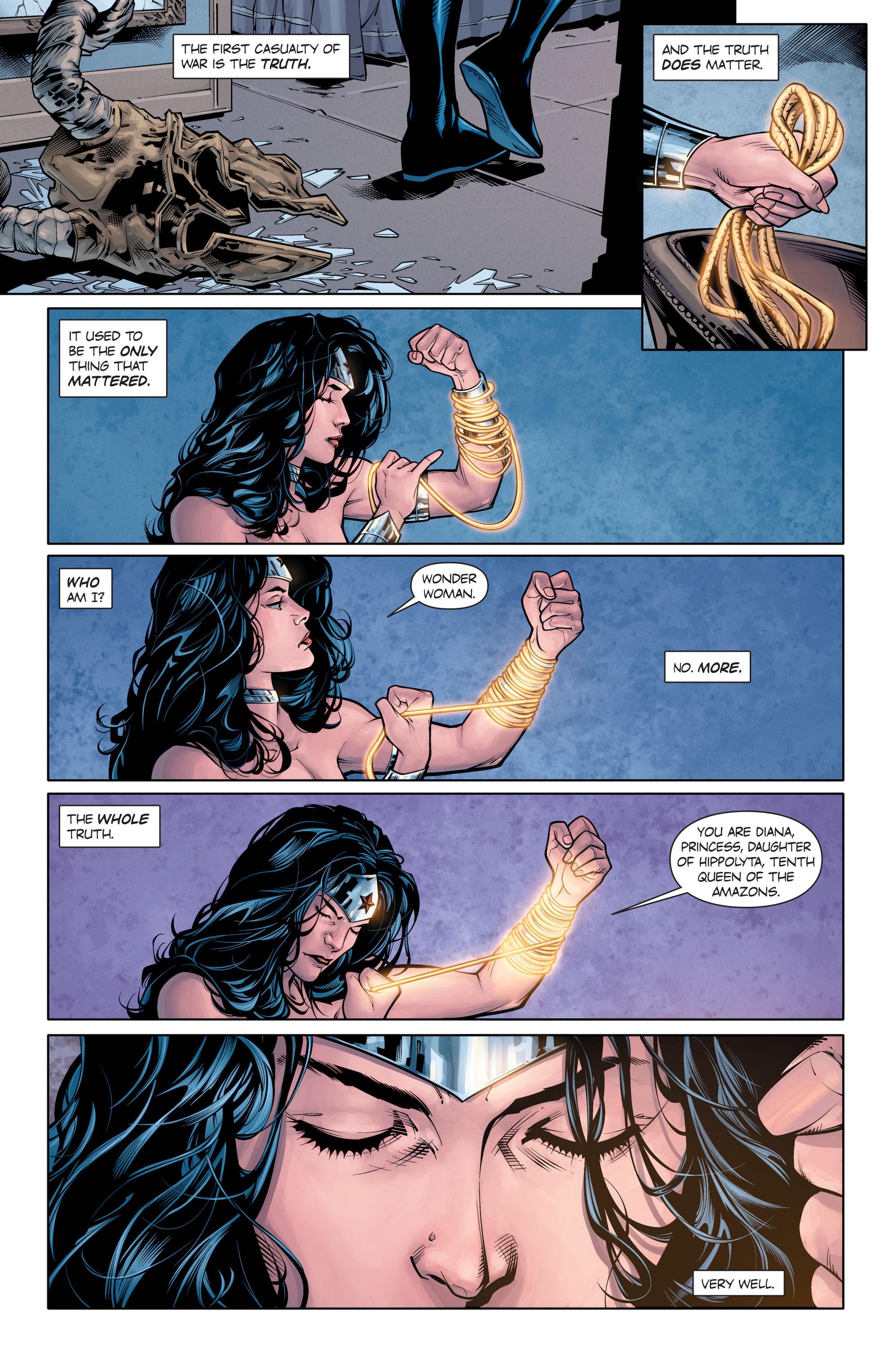 Read online Wonder Woman: Rebirth comic -  Issue # Full - 13
