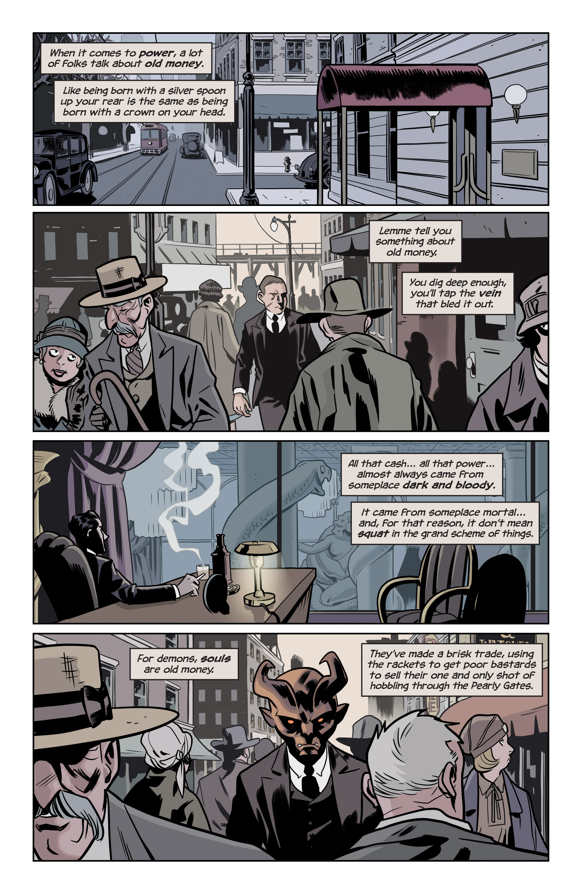 Read online The Damned comic -  Issue #1 - 15