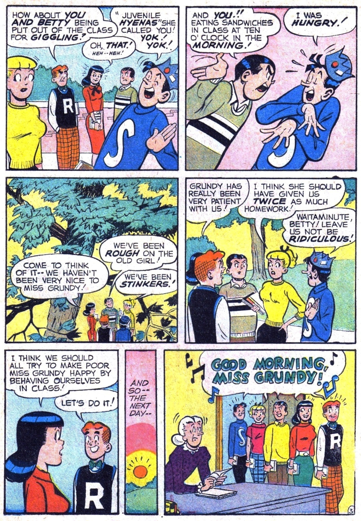 Read online Archie (1960) comic -  Issue #116 - 15