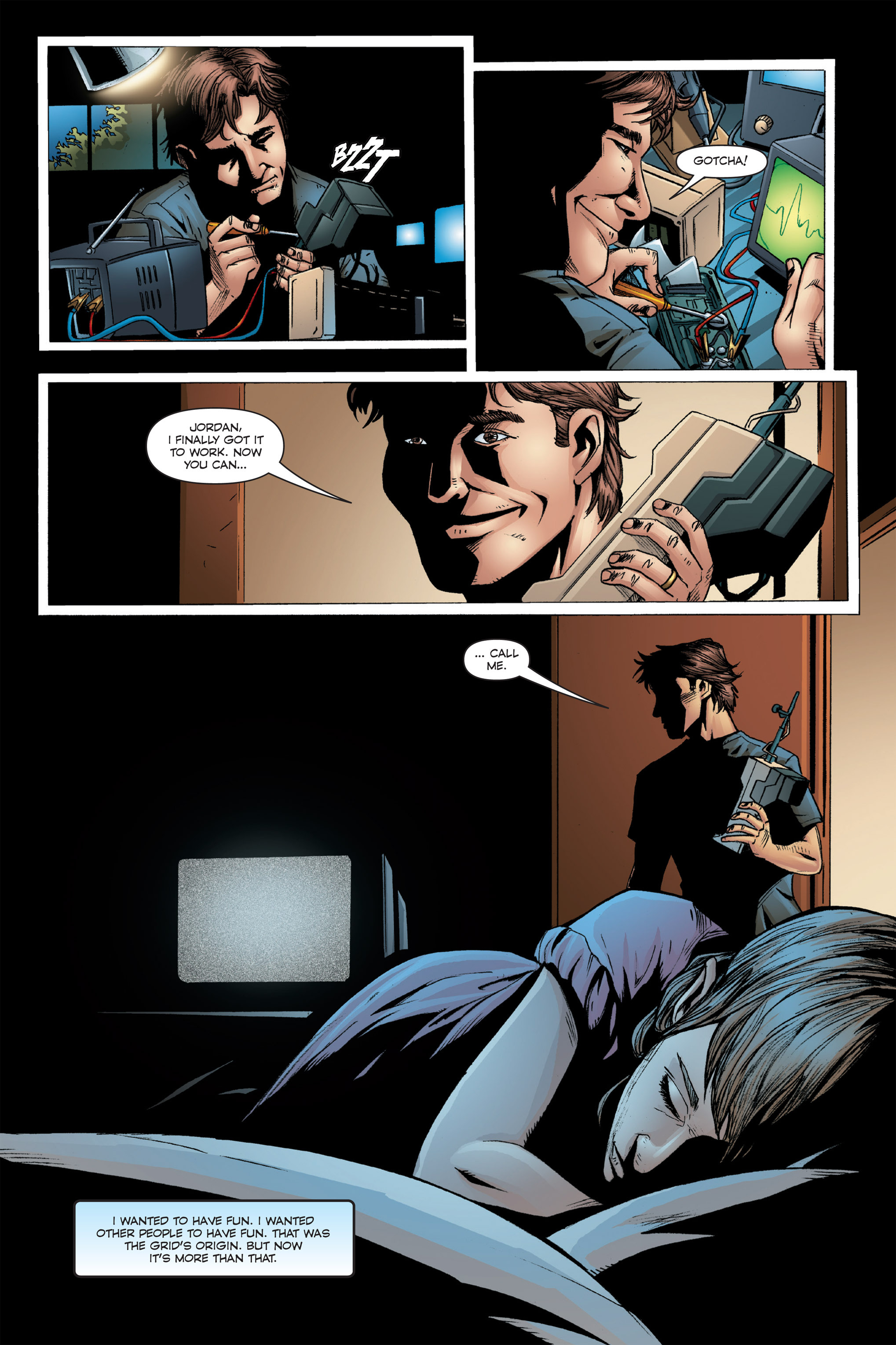 Read online TRON: Betrayal comic -  Issue # TPB - 47