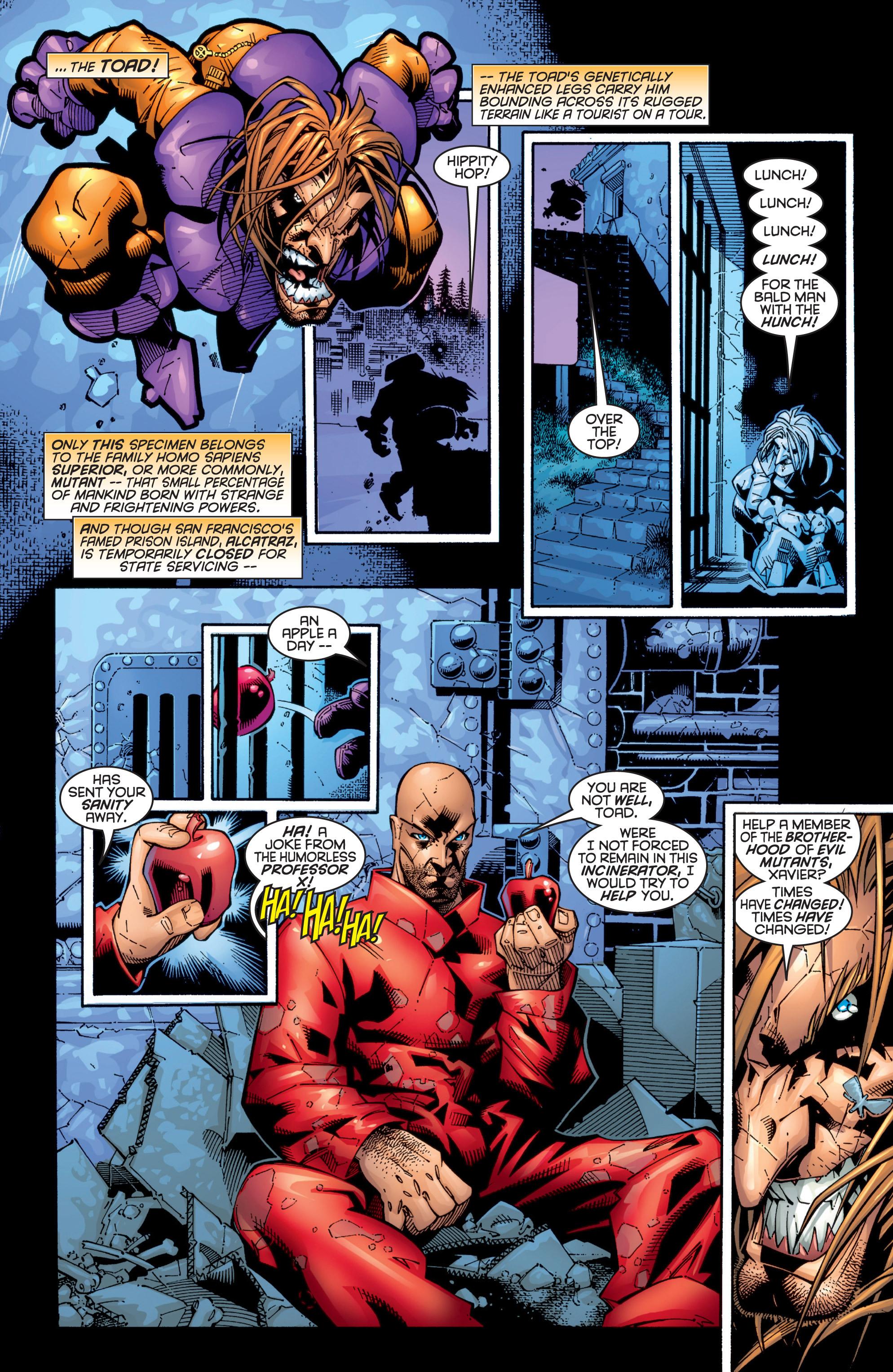 Read online Uncanny X-Men (1963) comic -  Issue #363 - 4