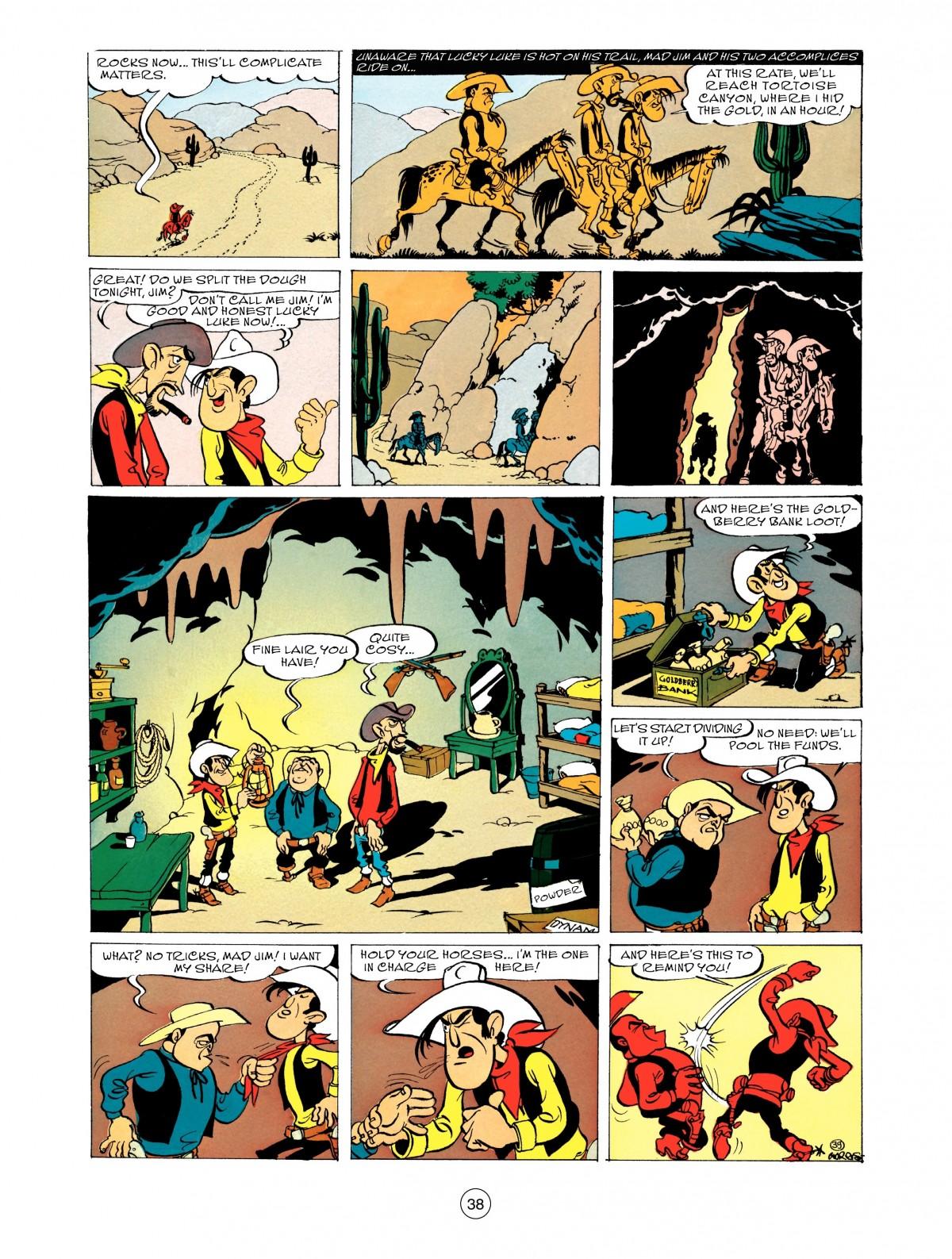 Read online A Lucky Luke Adventure comic -  Issue #48 - 38