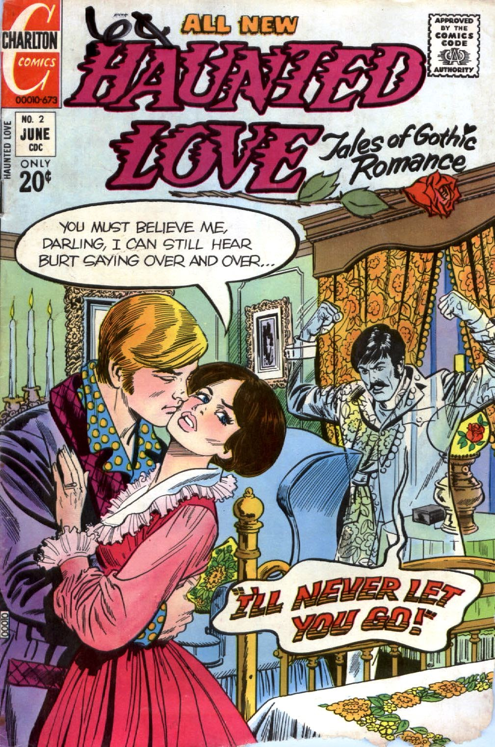Haunted Love (1973) issue 2 - Page 1