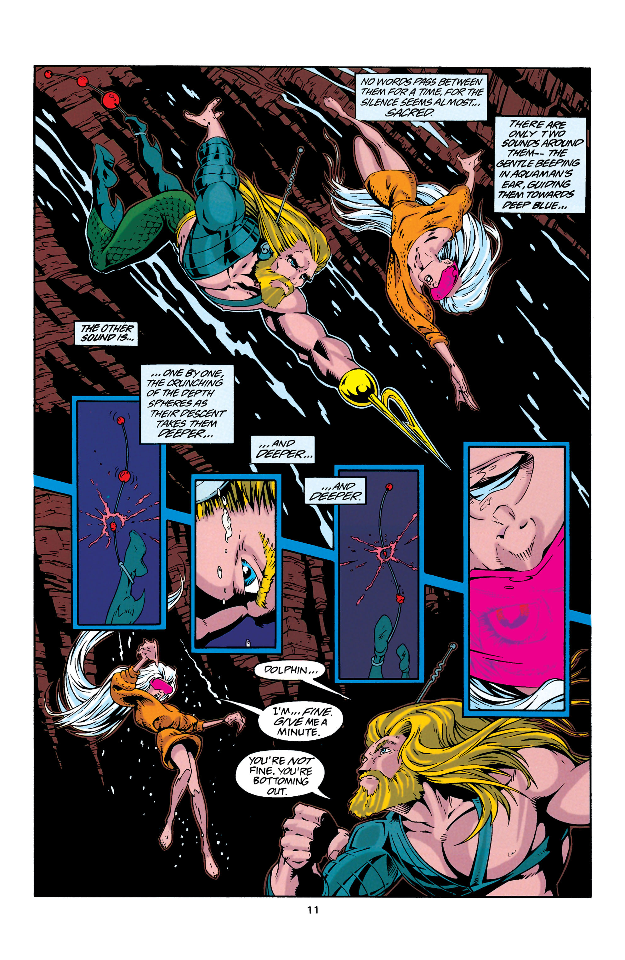 Read online Aquaman (1994) comic -  Issue #29 - 11
