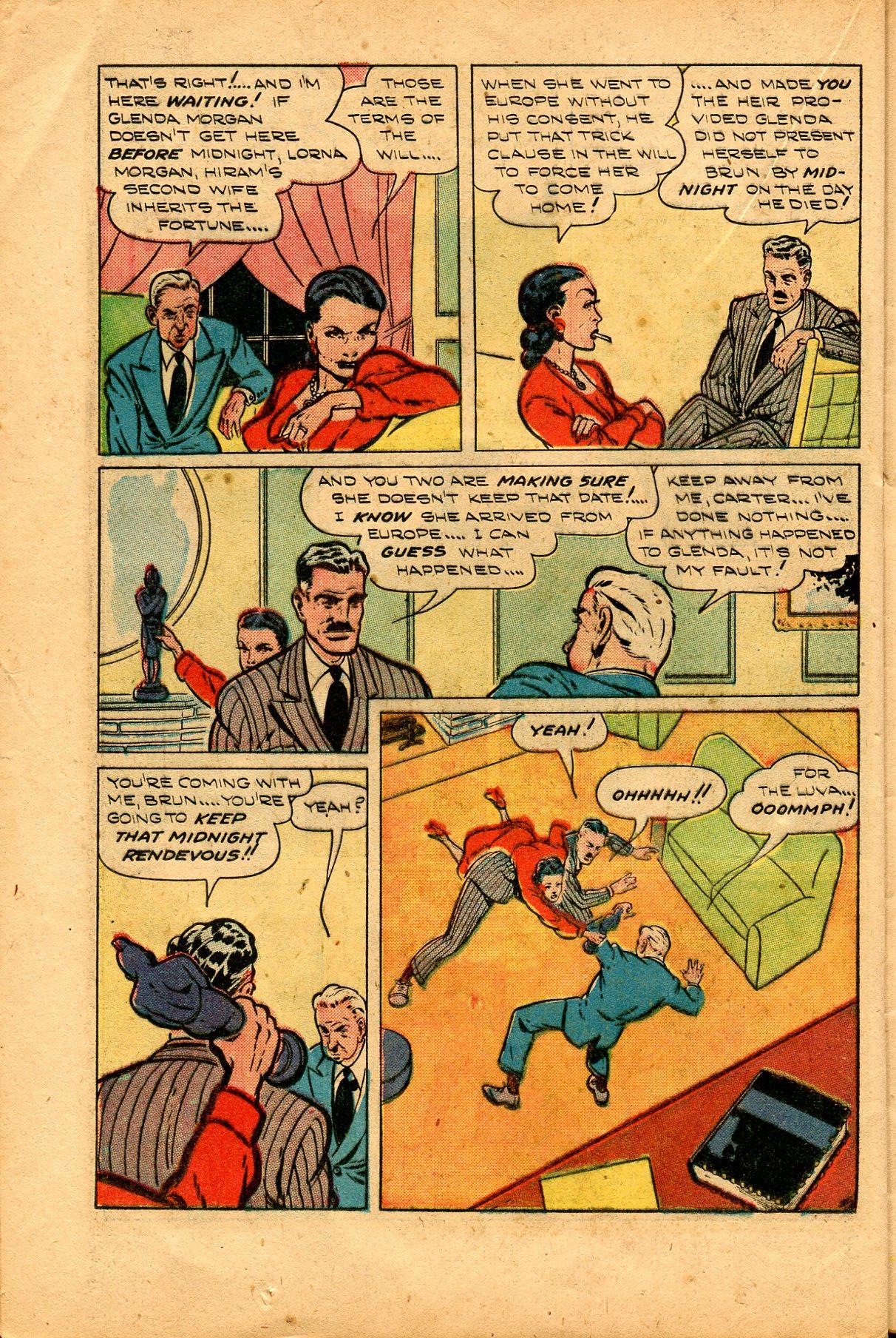 Read online Shadow Comics comic -  Issue #94 - 30