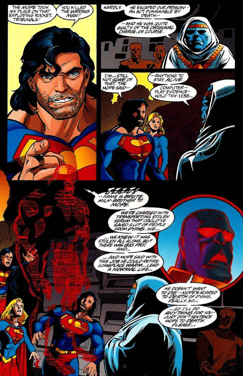 Read online Adventures of Superman (1987) comic -  Issue #531 - 9