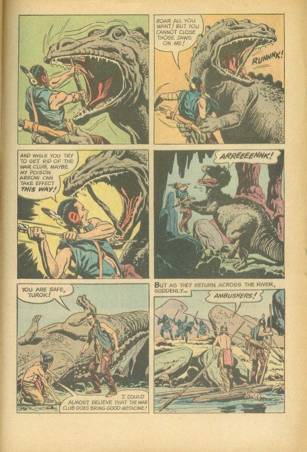 Read online Turok, Son of Stone comic -  Issue #24 - 33